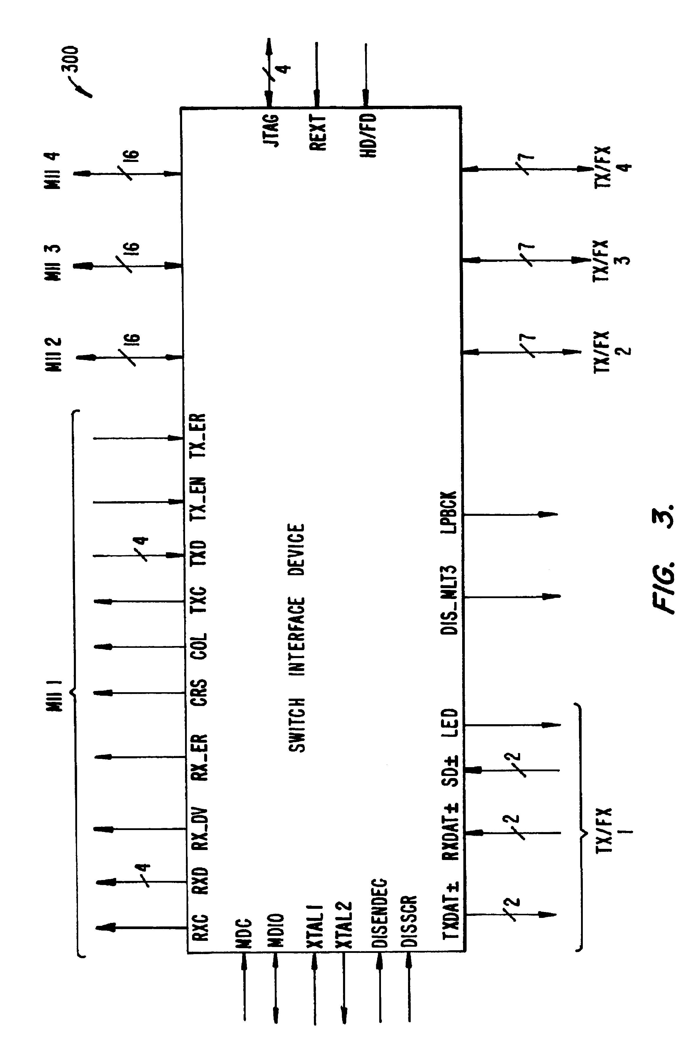 Patent US6704296 - Optimized MII for 802 3u (100 BASE-T