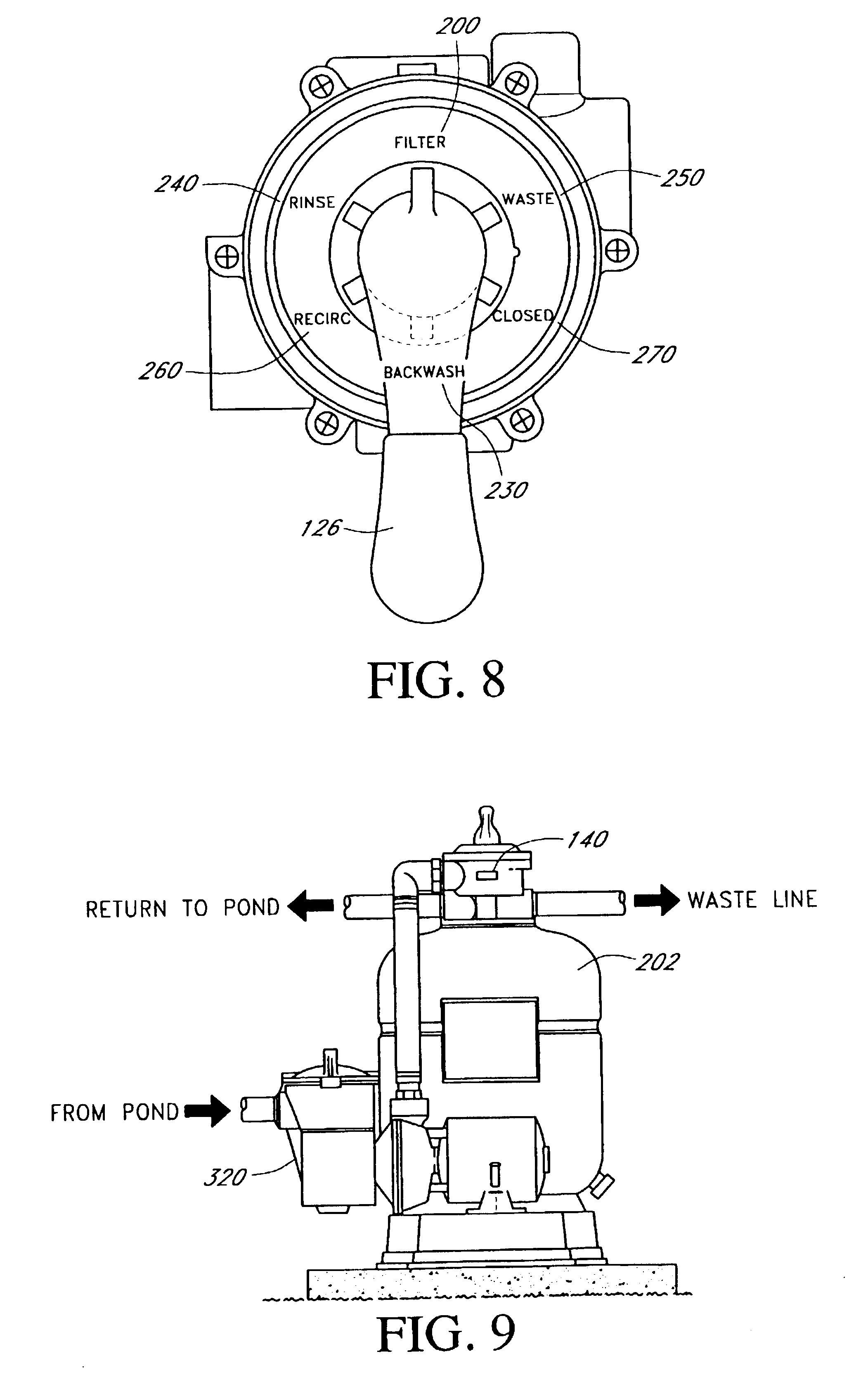 Patente US6709574 - Fish pond filter system - Google Patentes