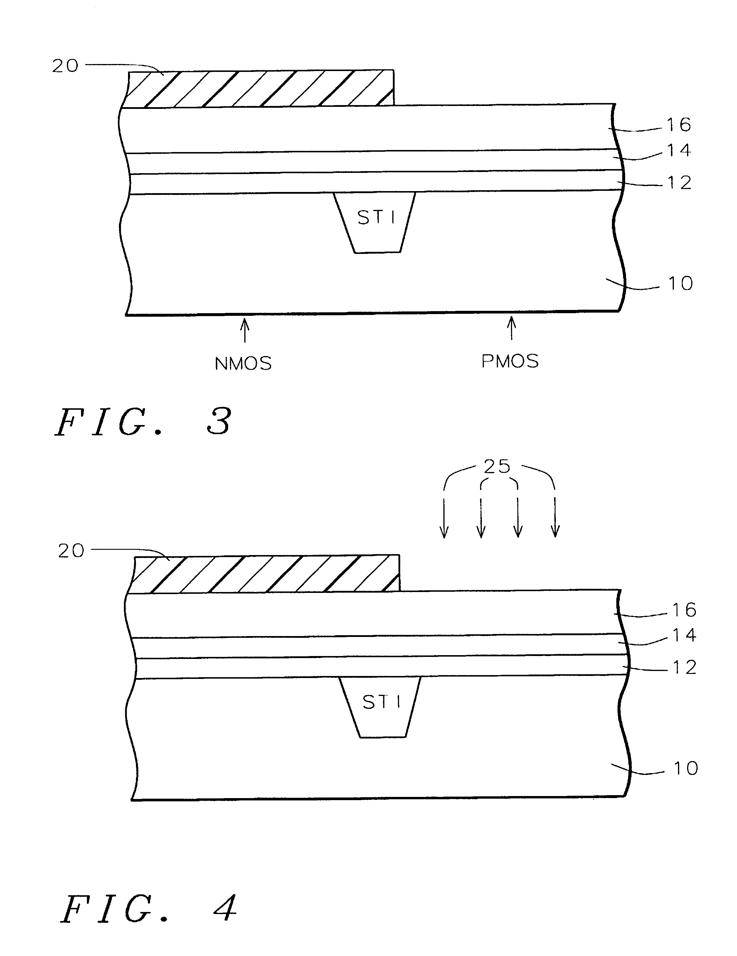 Patent US6709912 - Dual Si-Ge polysilicon gate with different Ge