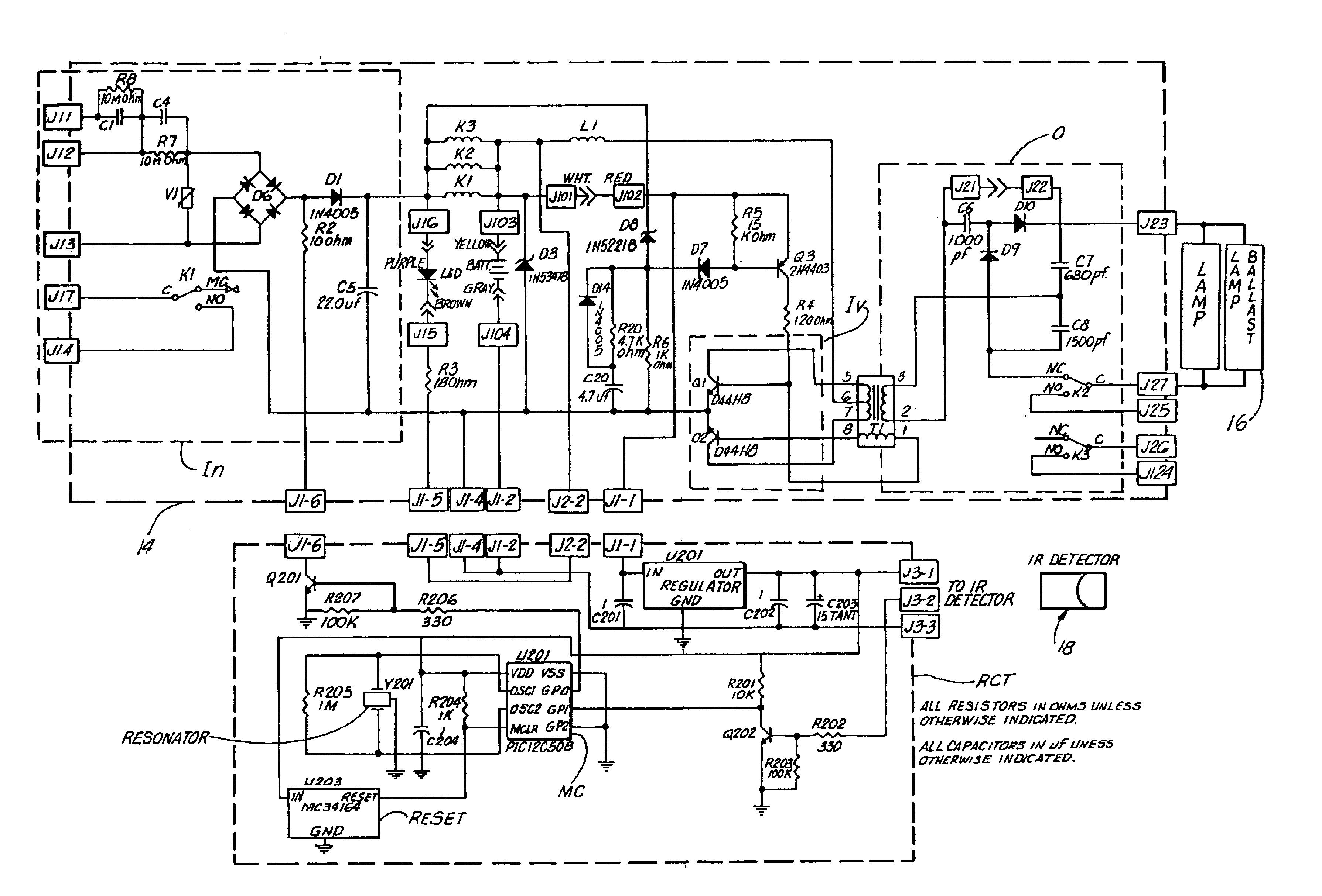 patent us6710546 remote control test apparatus google. Black Bedroom Furniture Sets. Home Design Ideas