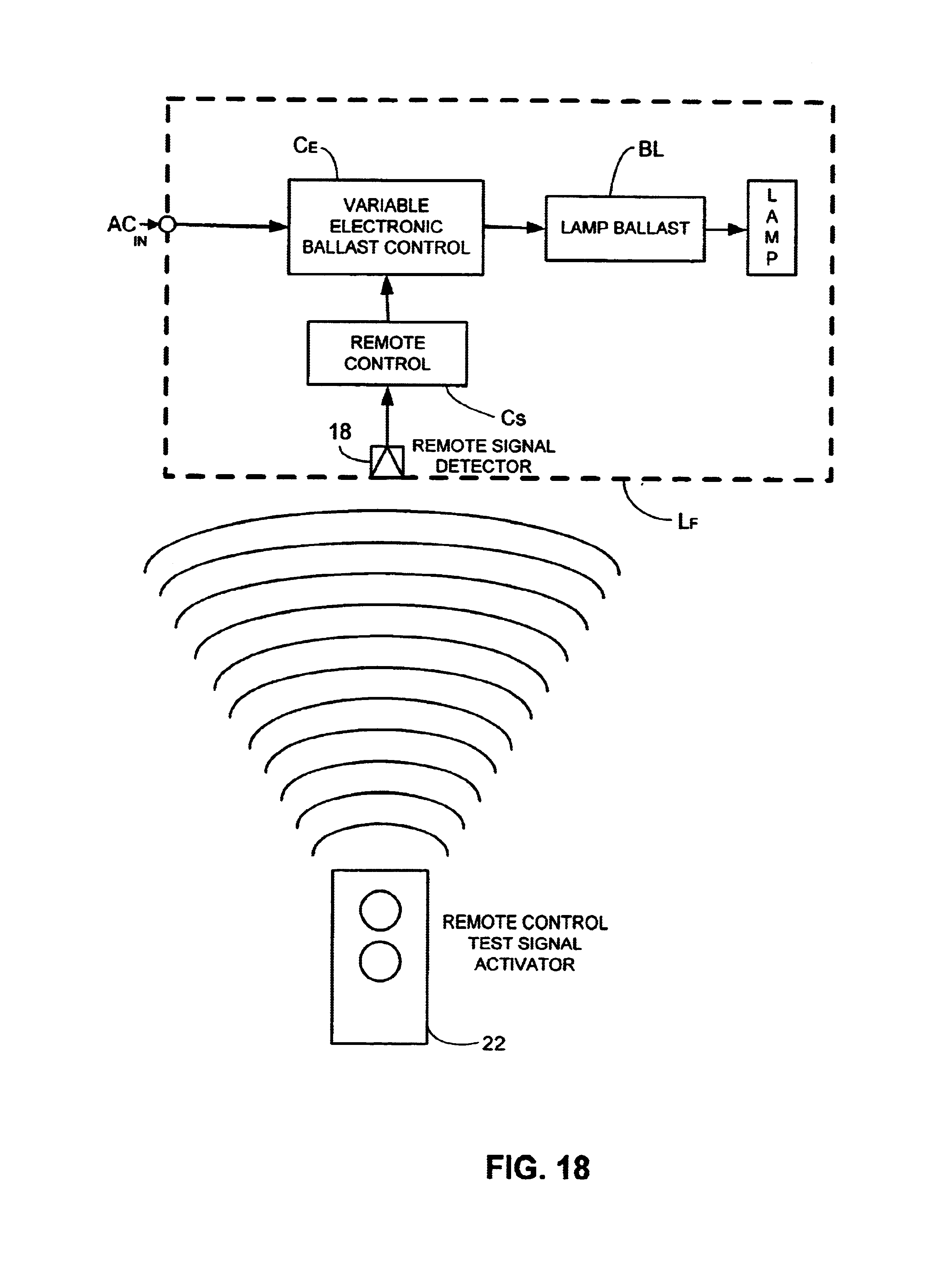 Patent Us6710546 Remote Control Test Apparatus Google Patents Tv Infrared Launch Circuit Remotecontrolcircuit Drawing