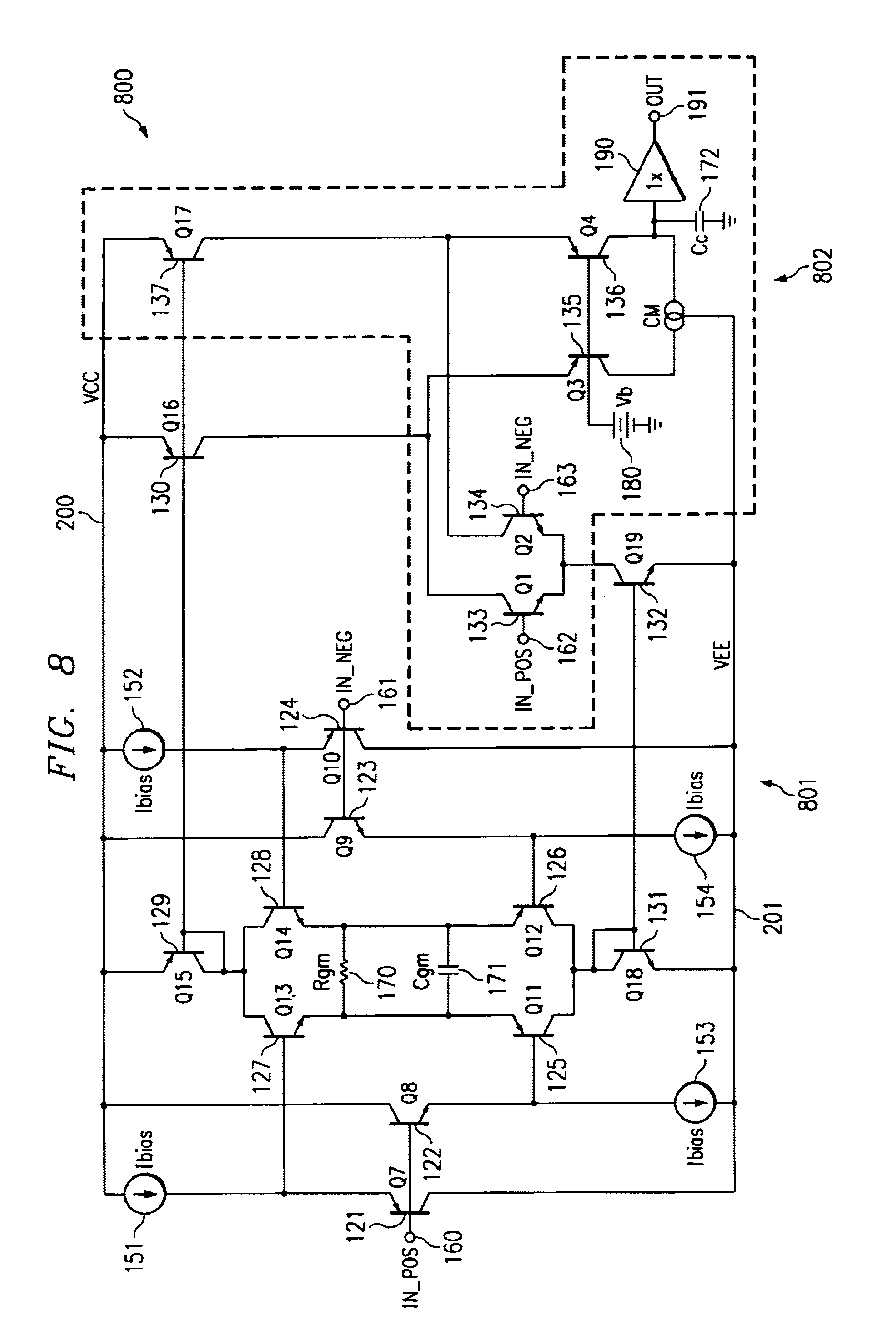Integrated Circuit High Speed Voltage Feedback Amplifier