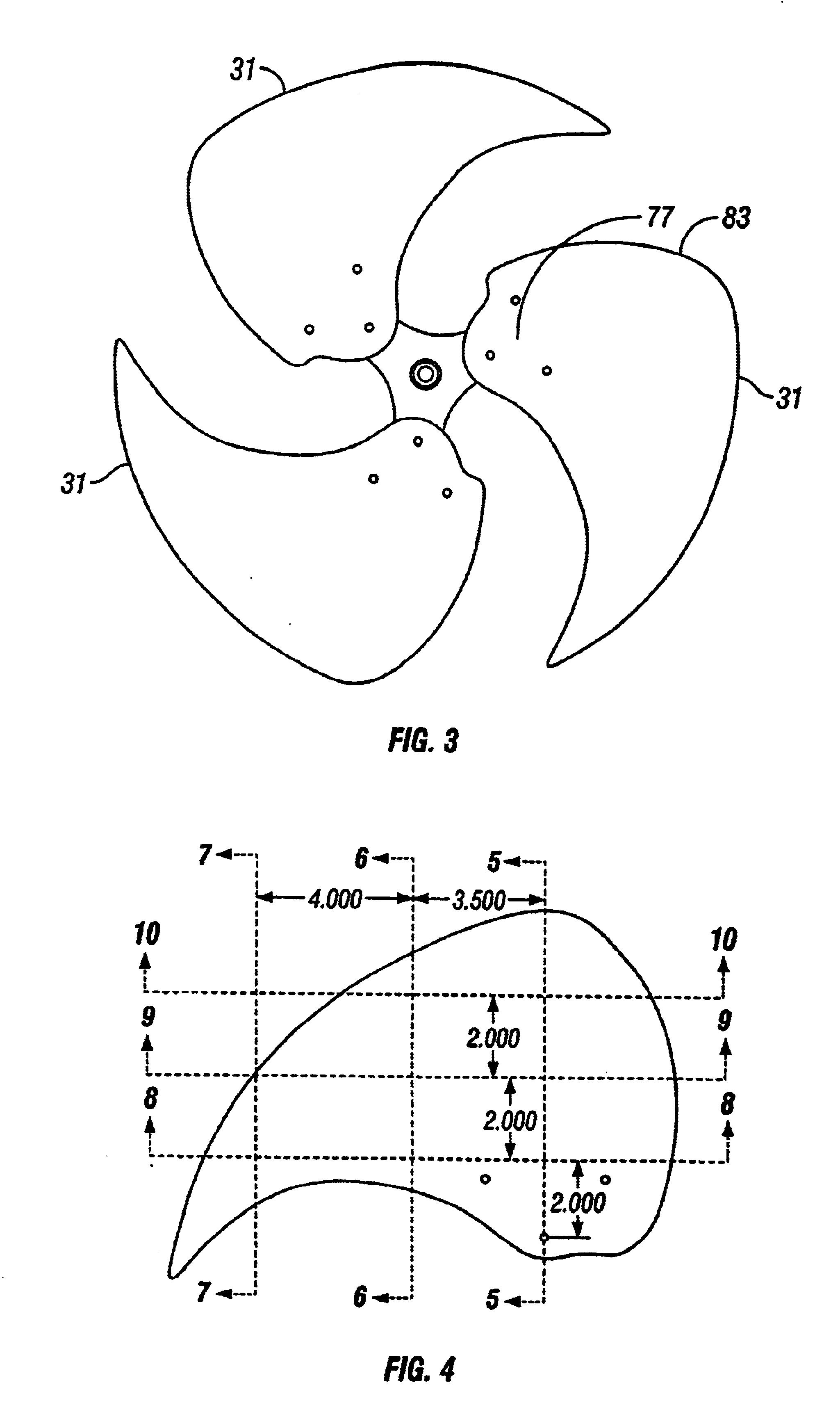 Fan Blade Drawing : Patent us fan blade google patentsuche