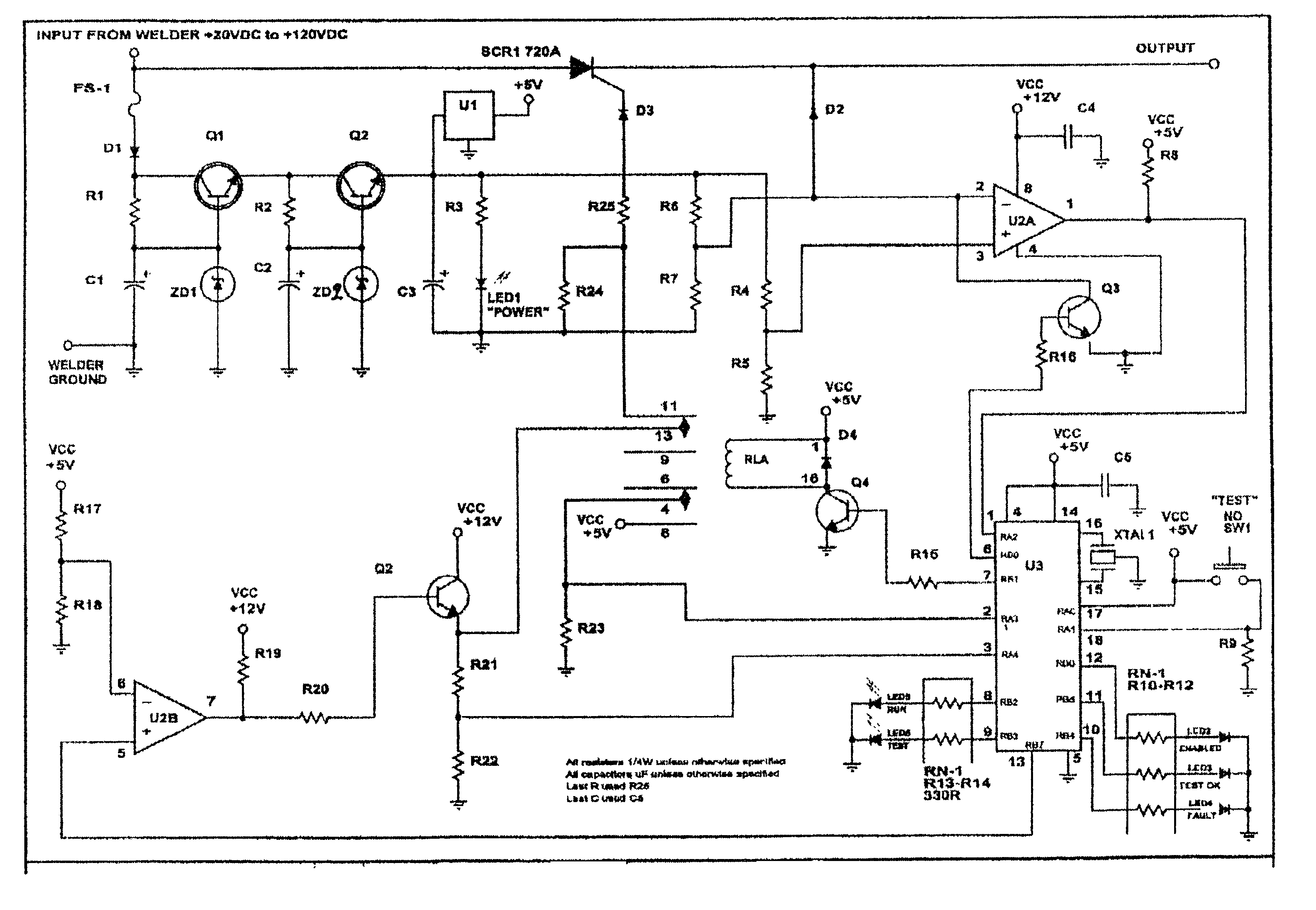 Arc Welding Machine Circuit Diagram Wiring