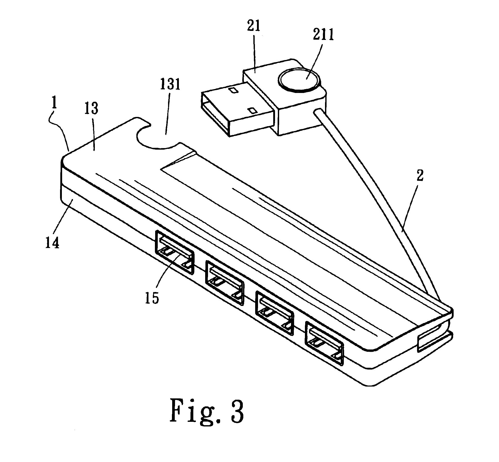patent us6722917 - usb hub