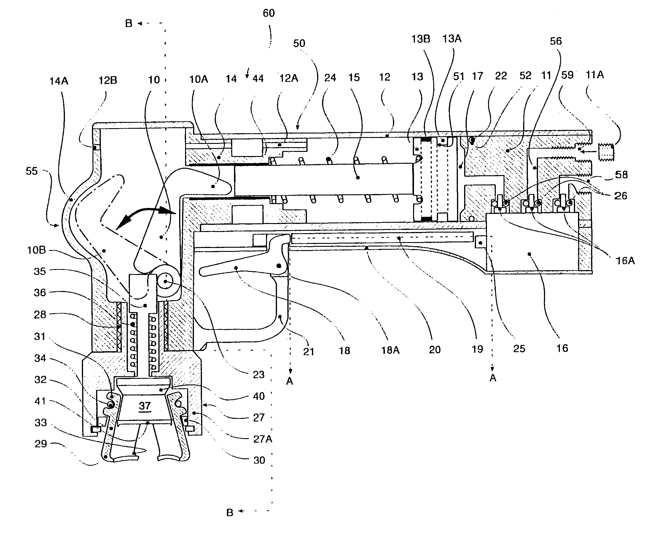Patent Us6729104 Pneumatic Crimping And Capping Handheld Tool 1991 940 Volvo Engine Diagram Drawing