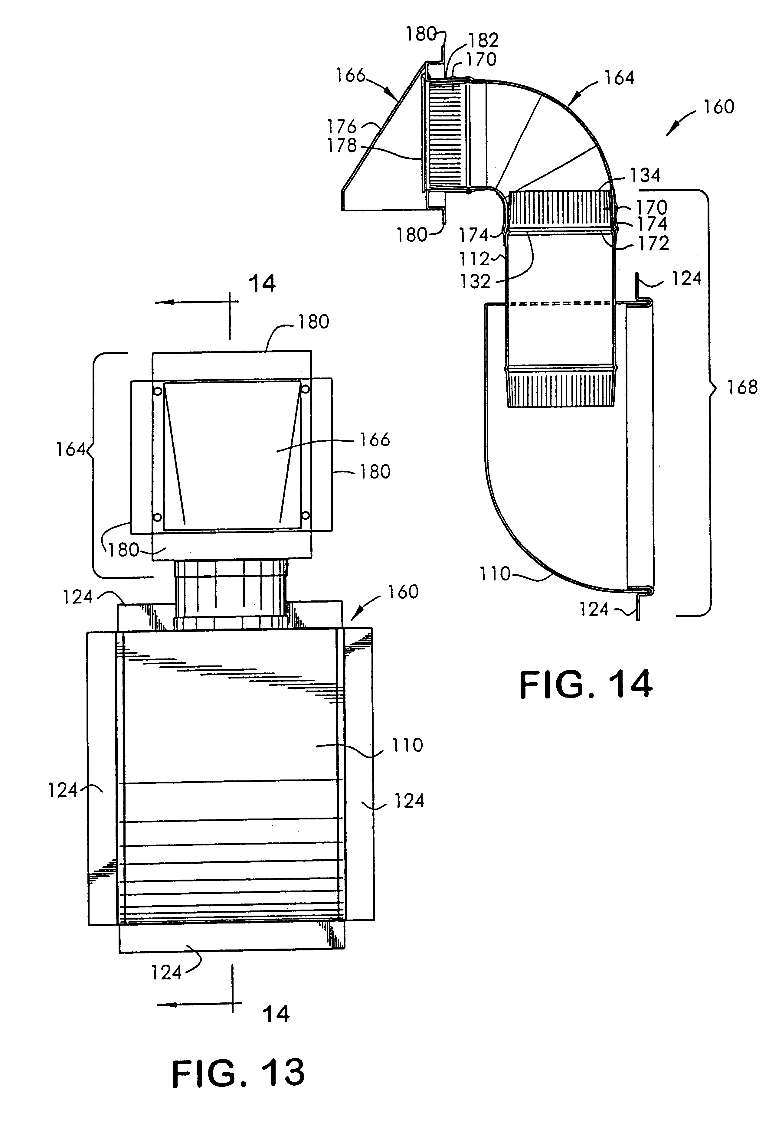 Patent Us6729586 System And Method For A Dryer Rough In