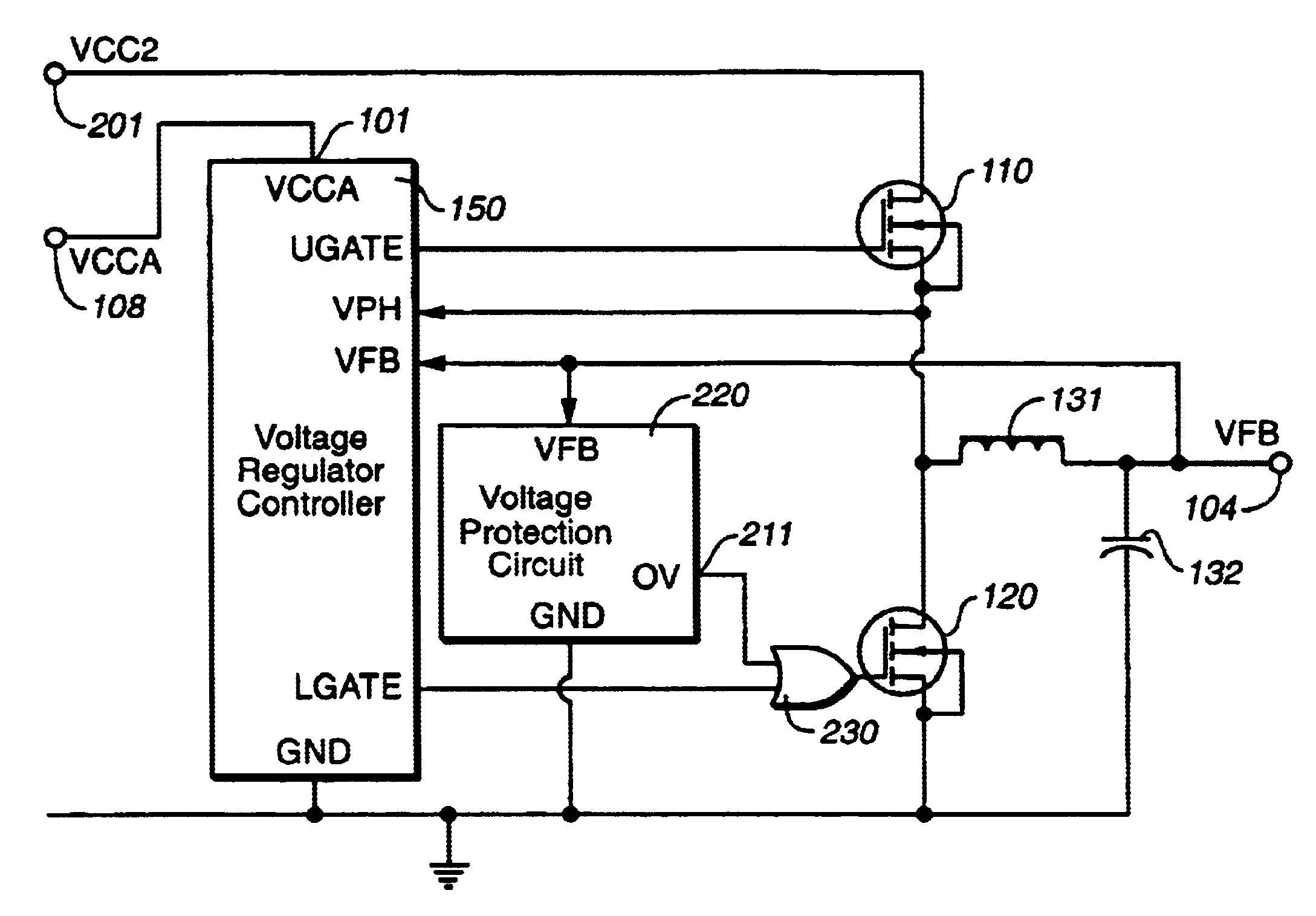 Pulse Width Modulator Circuit Transistors The Structural Wiring Boost Converter Archives Codertronics Patent Us6731486 Output Powered Over Voltage Protection Simple Schematic