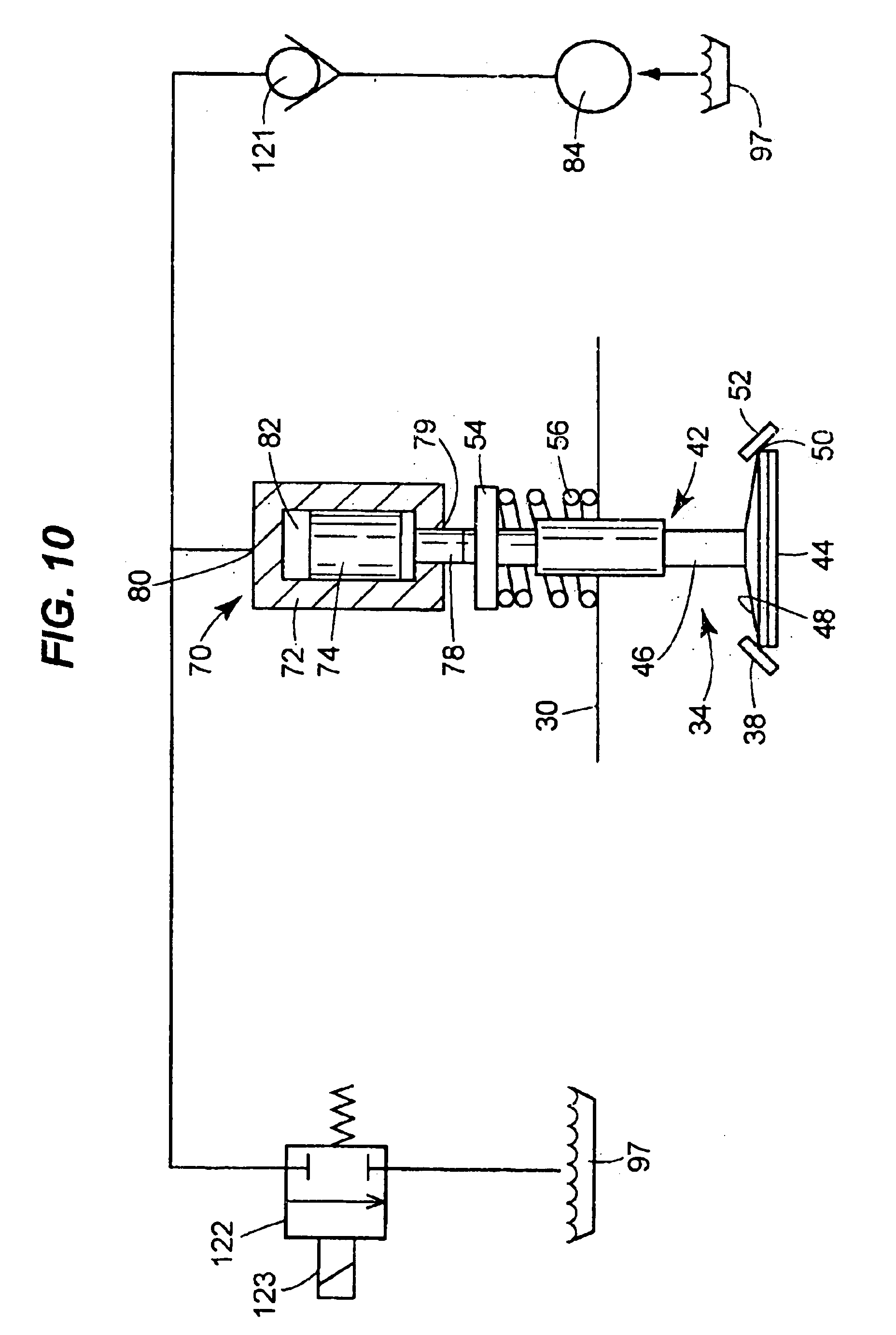 Patent Us6732685 Engine Valve Actuator Google Patents Mack Truck Diagram Cylinder Head Drawing