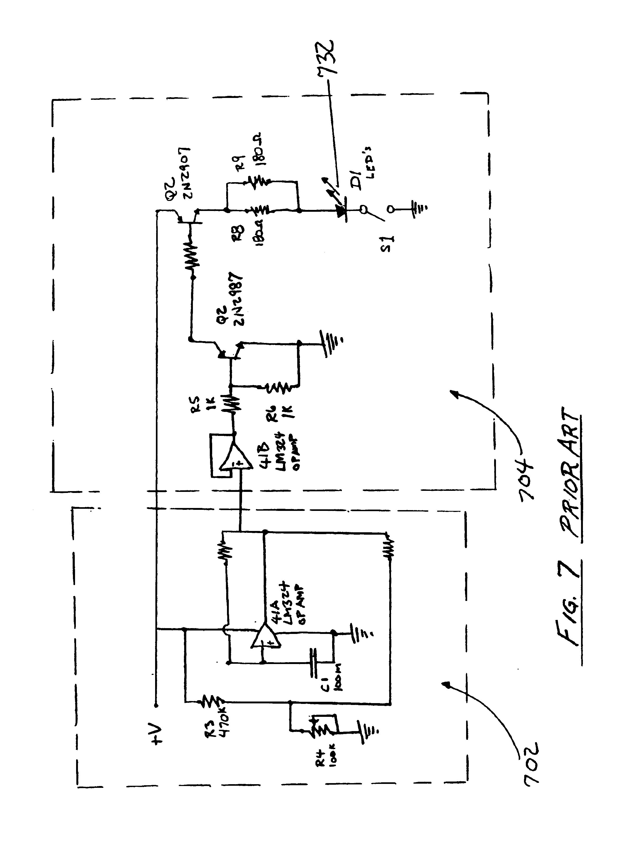 Patent Us6733150 Headgear With Forward Illumination Google Patents Ir Sensor Circuit Diagram Using Lm324 Drawing