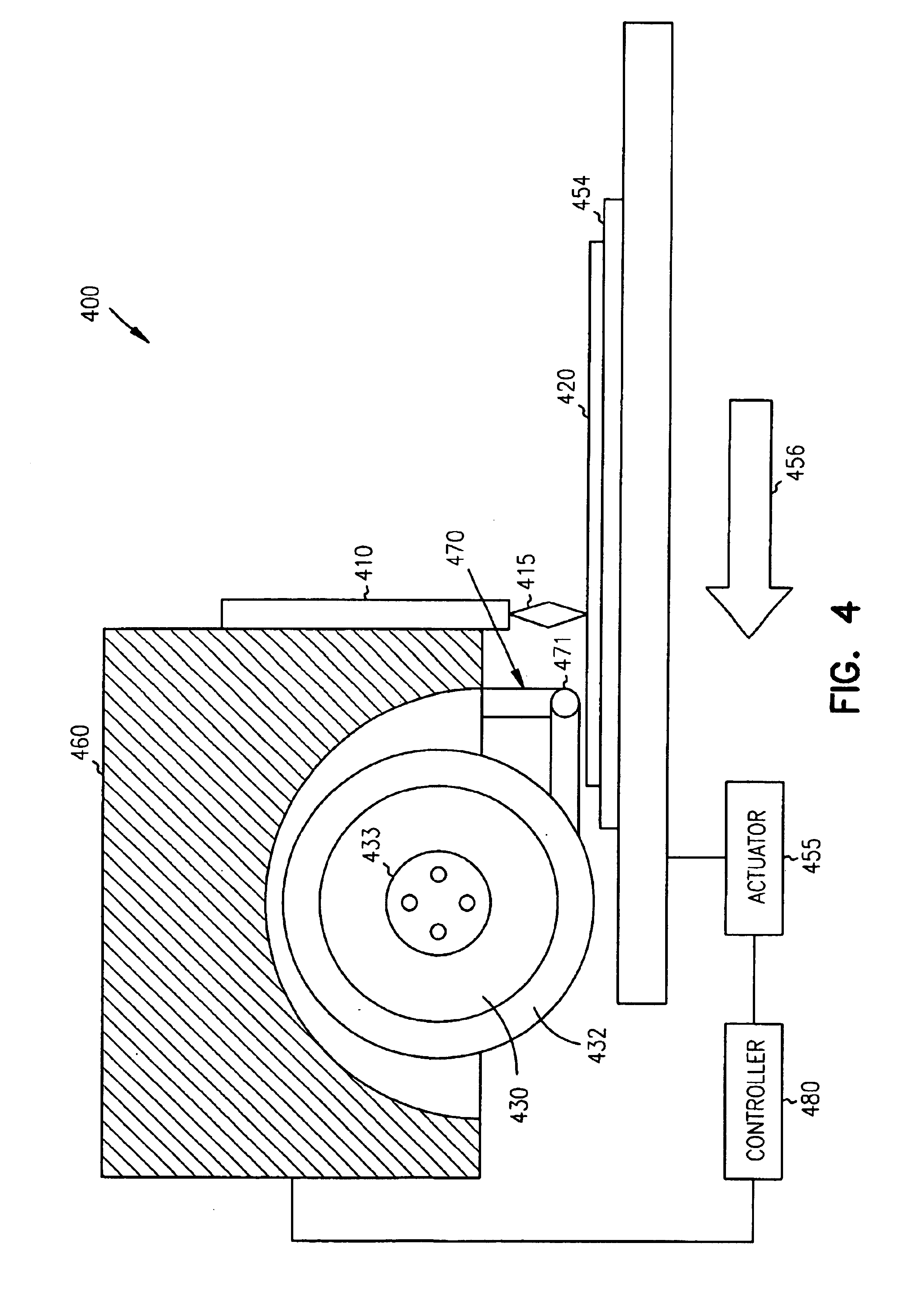 patent us6737606 - wafer dicing device and method