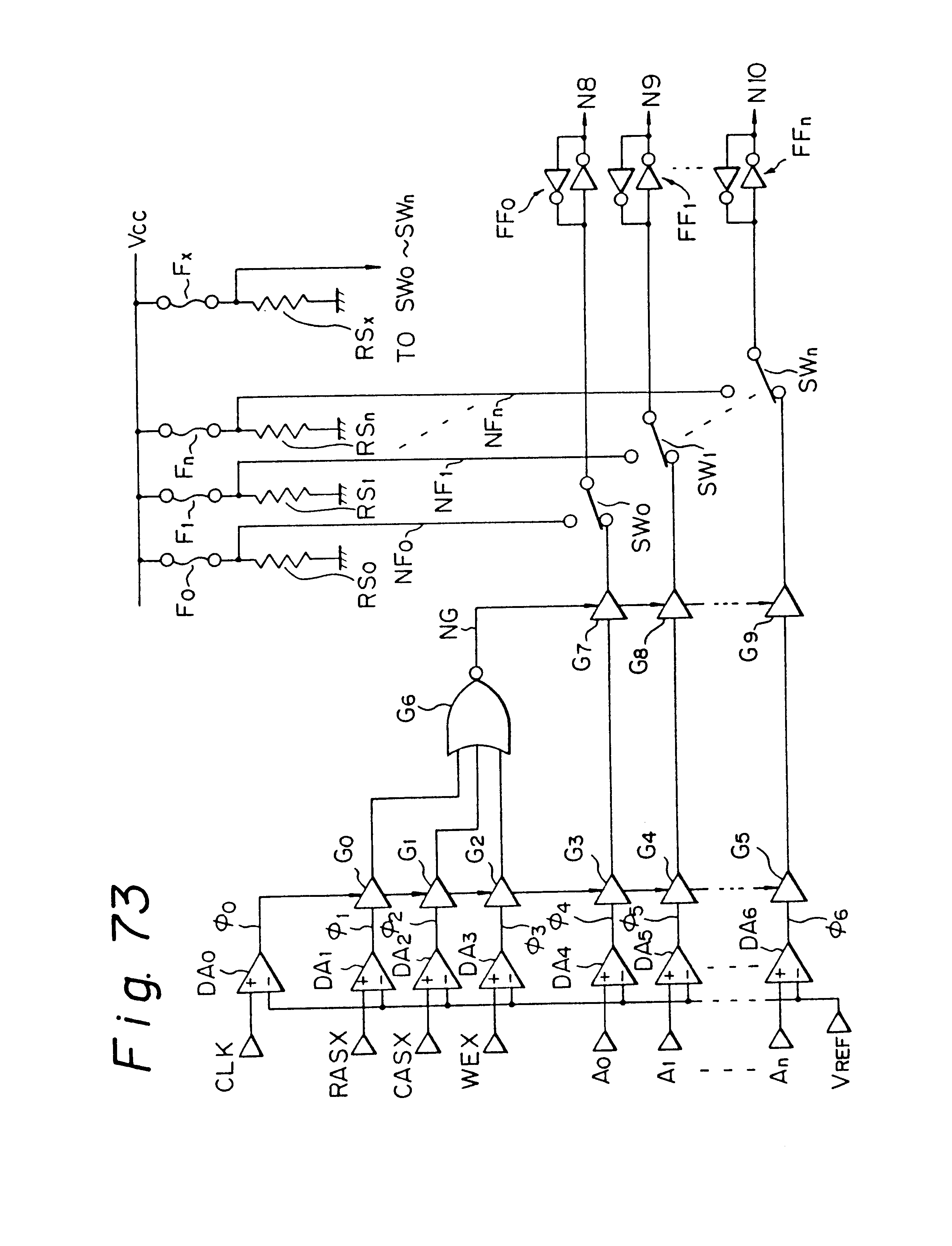 patent us6737893  output interface adapted for