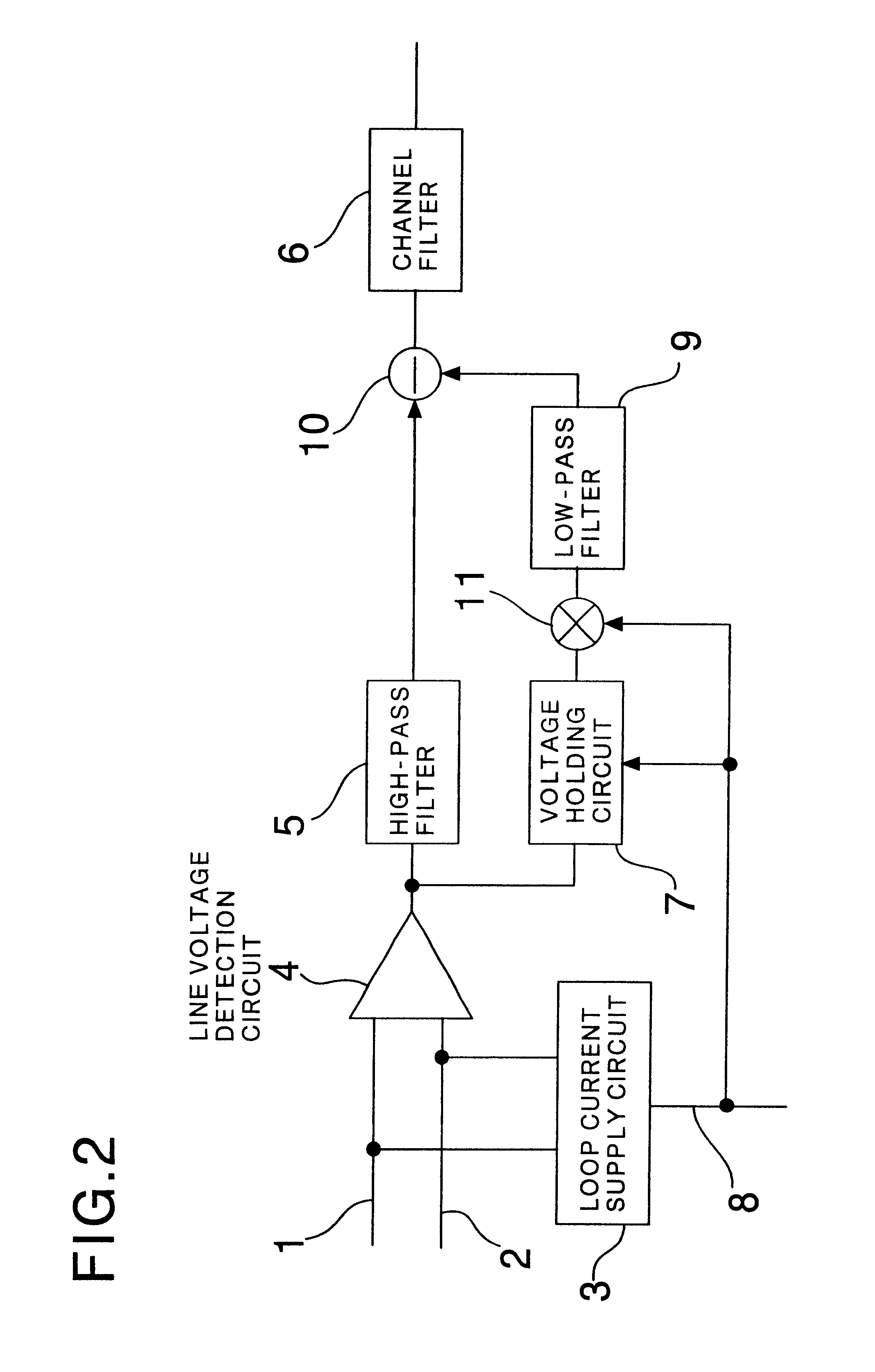 Patent Us6744889 Subscriber Circuit For Public Telephone Set Lowpass Filter Diagram Basiccircuit Drawing