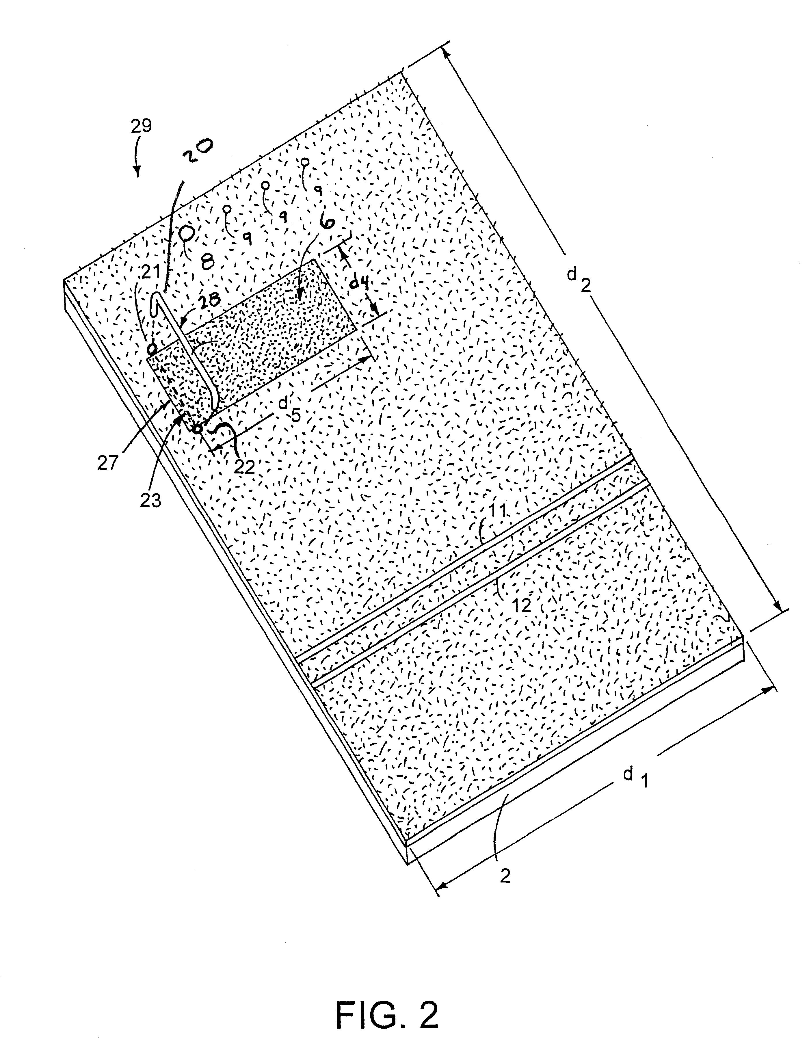 Patent Us6746340 Golf Divot Practice Mat Google