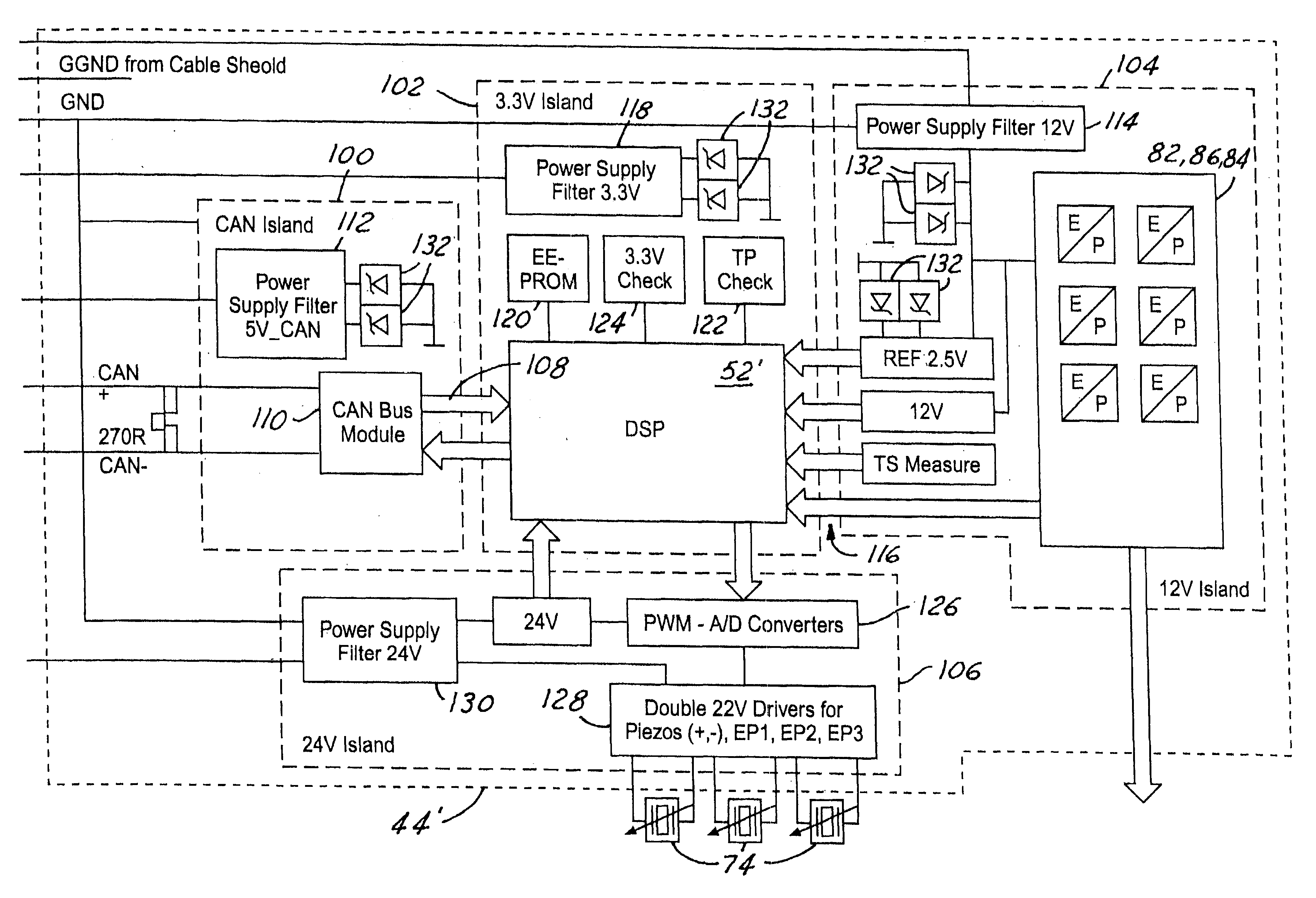 patent us6751520 intrinsically safe microprocessor controlled pressure regulator patents
