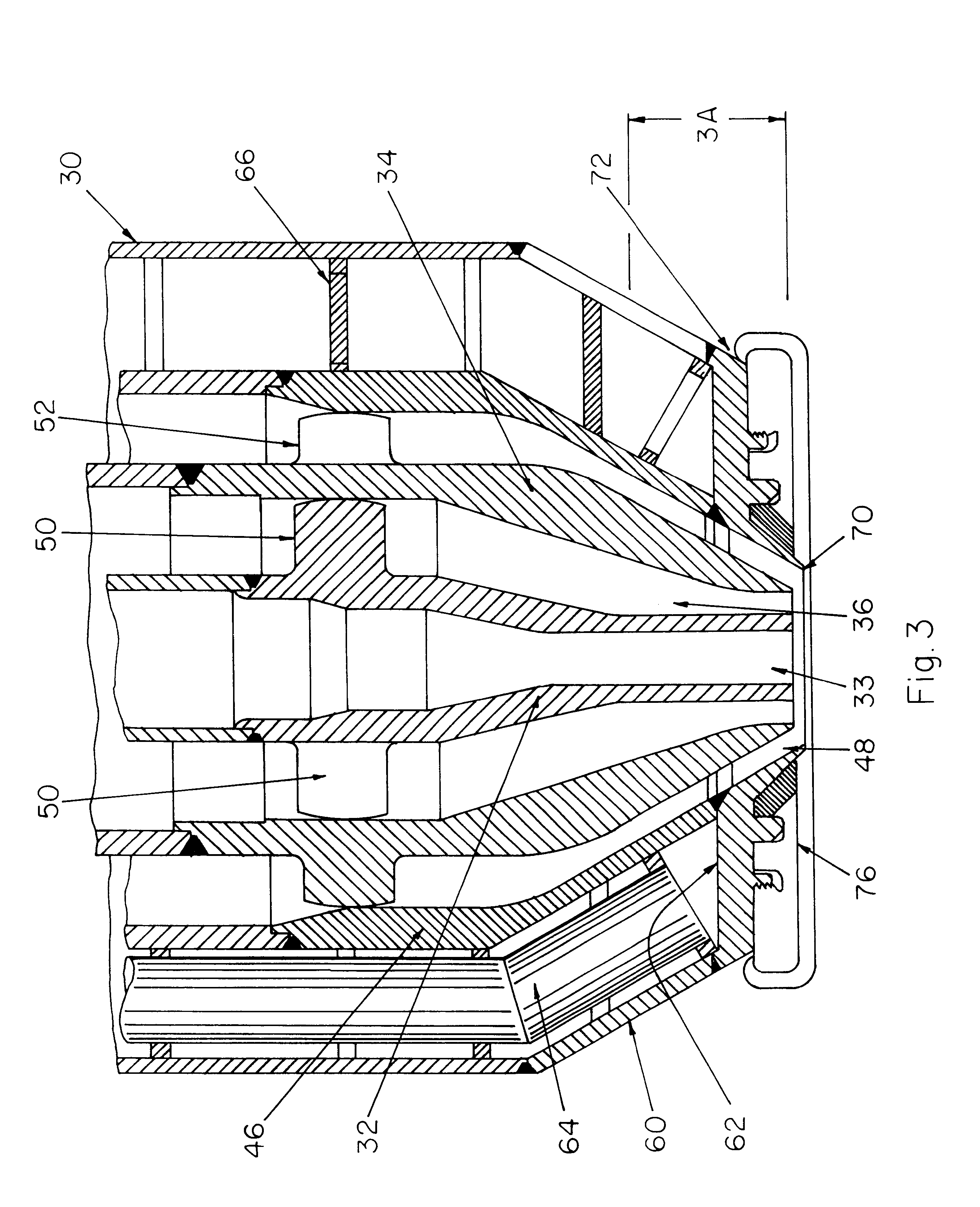 patent us6755355 coal gasification feed injector shield with integral 36 Inch Sub-Zero Refrigerator patent drawing