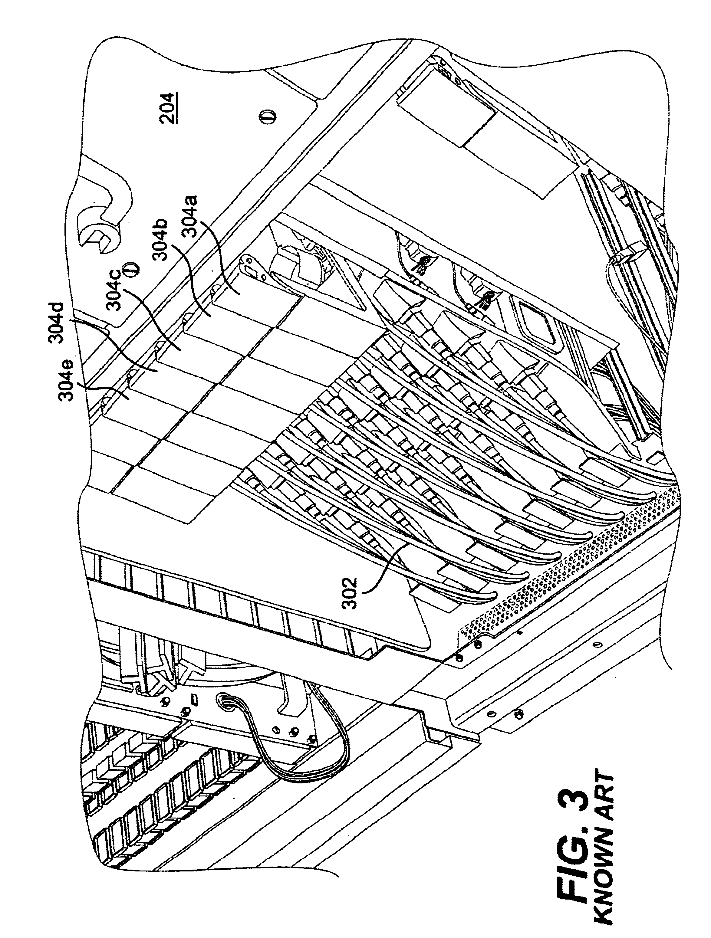 patent us6766095 - apparatus and method for slack management of fiber optic cables