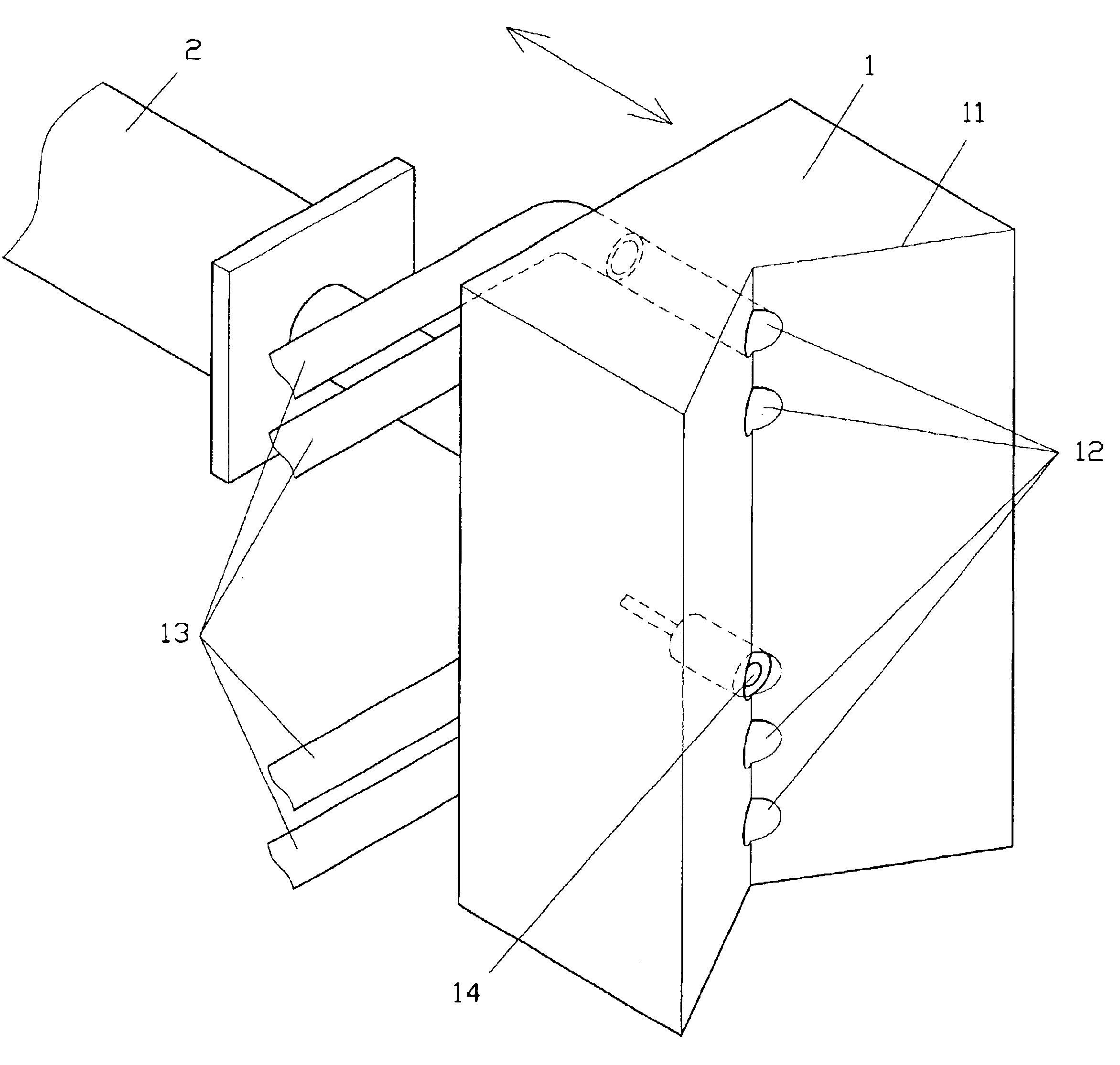 patent us6768077 tube electrode stabilizer for an edm drilling Sponge Electrodes patent drawing