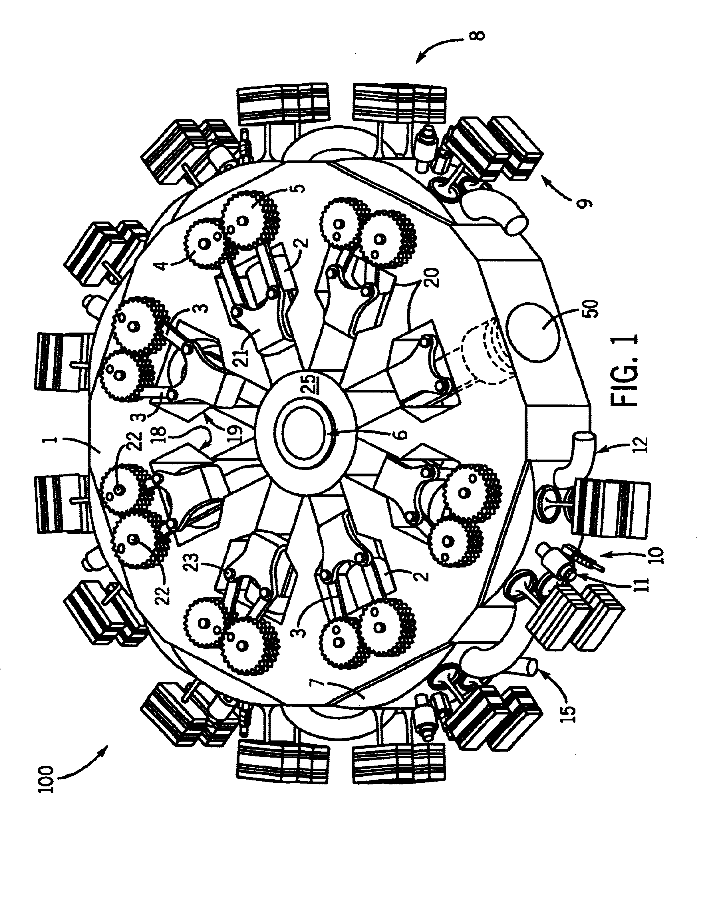 Cylinder Radial Engine Drawing Wiring And Engine Diagram