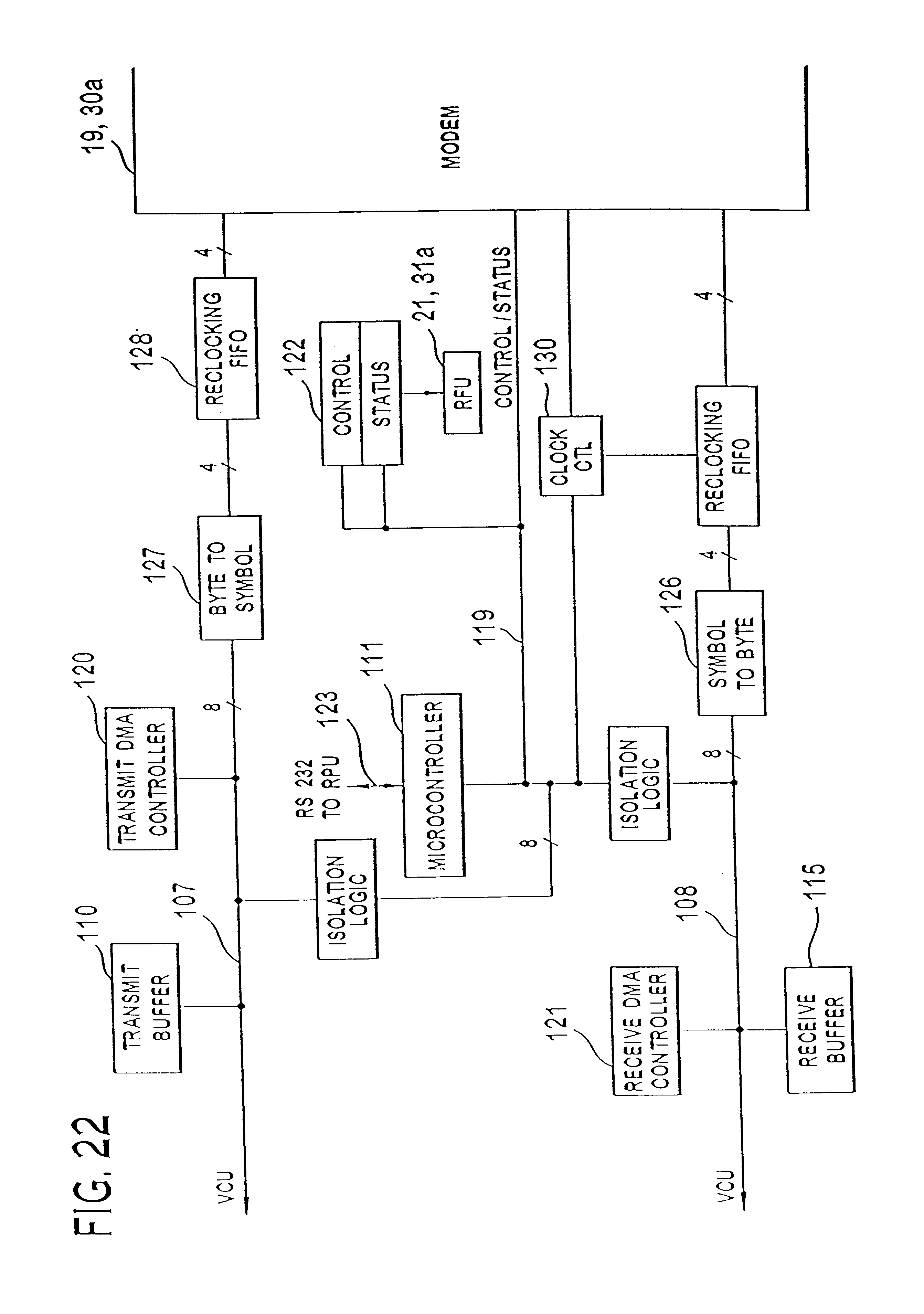 Patent Us6771667 Subscriber Rf Telephone System For Providing 825 Likewise Dcc Track Wiring Diagrams On Model Trains Drawing