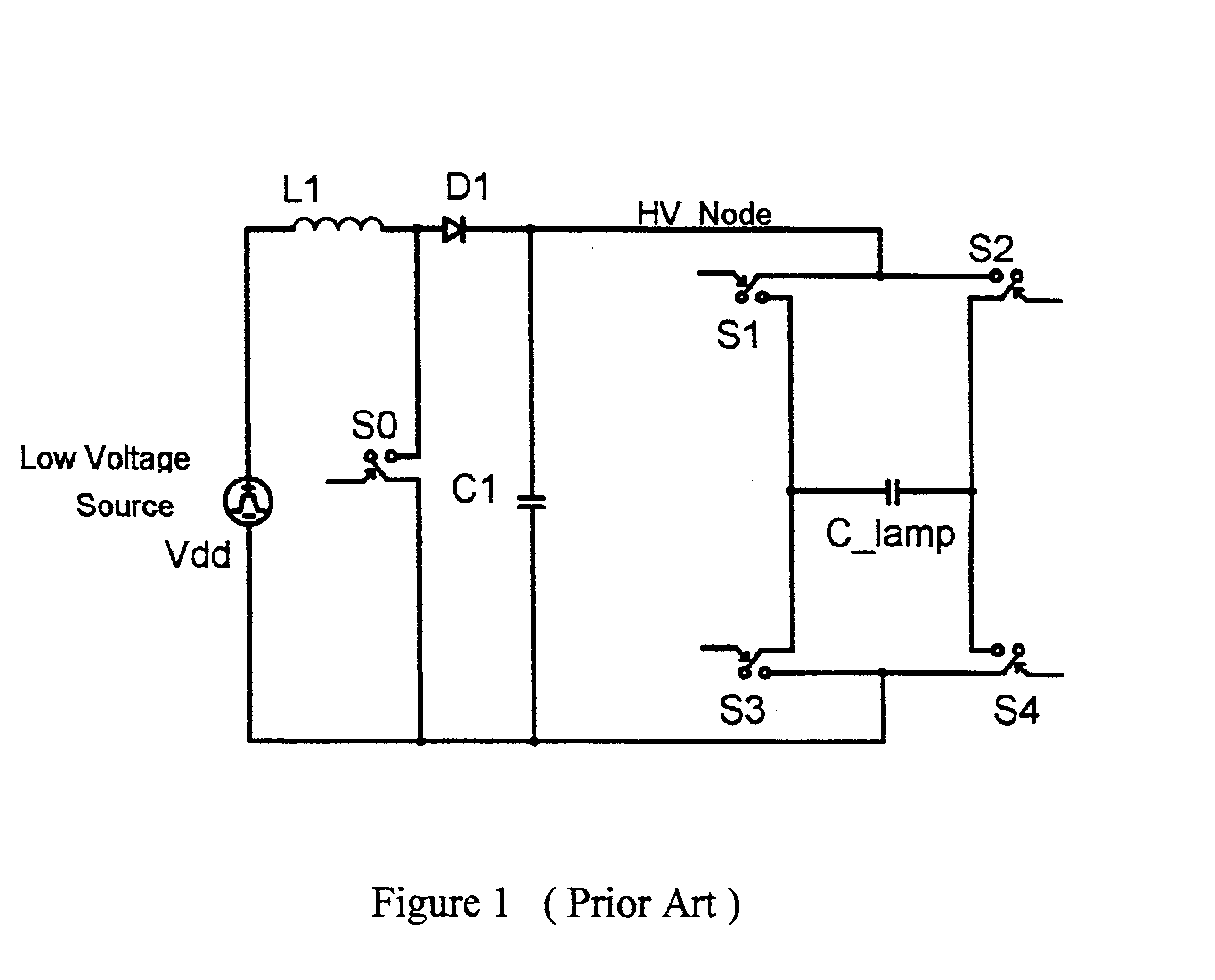 Figure 1 Representative Circuit For A Capacitorcharging