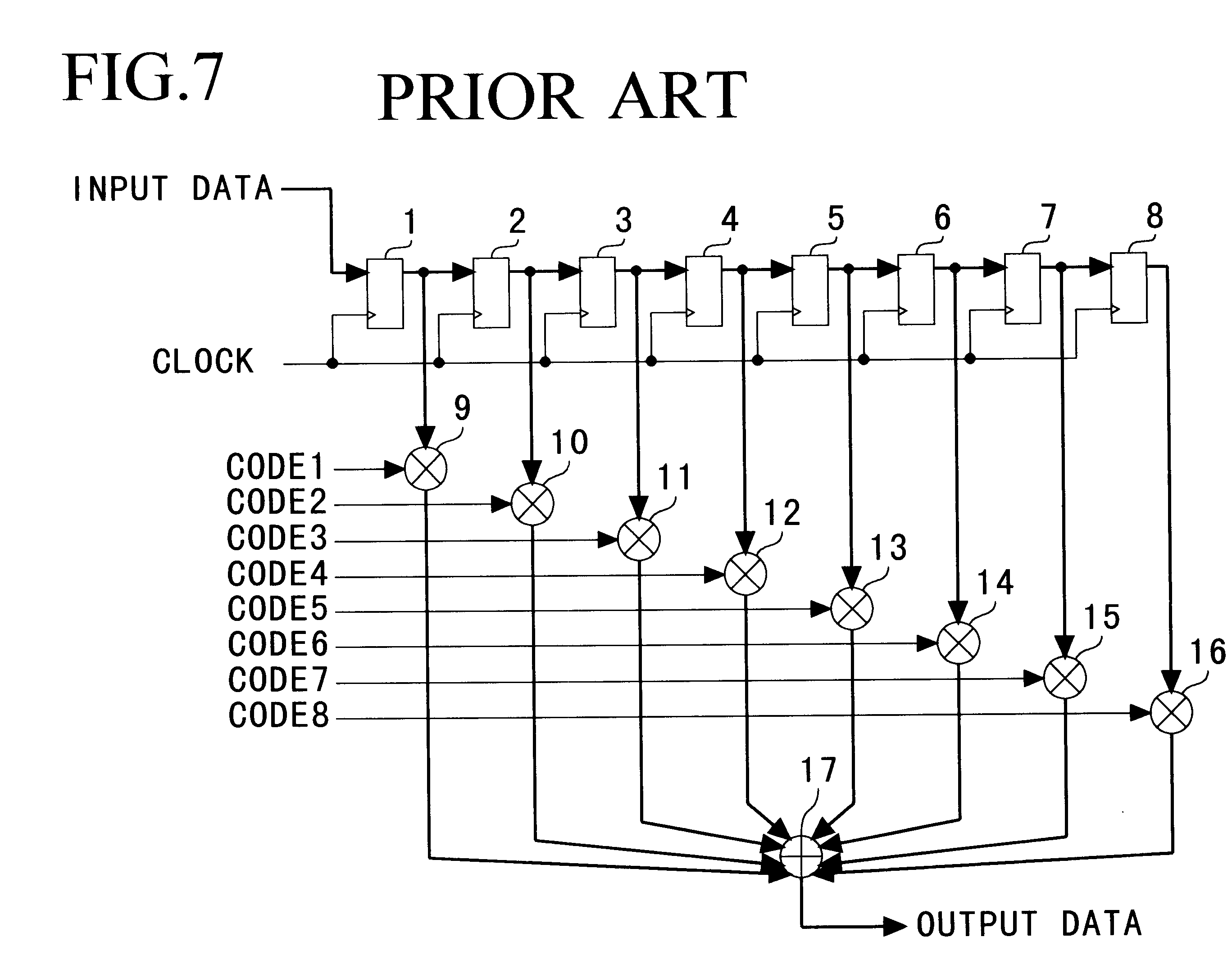 patent us6775684 - digital matched filter