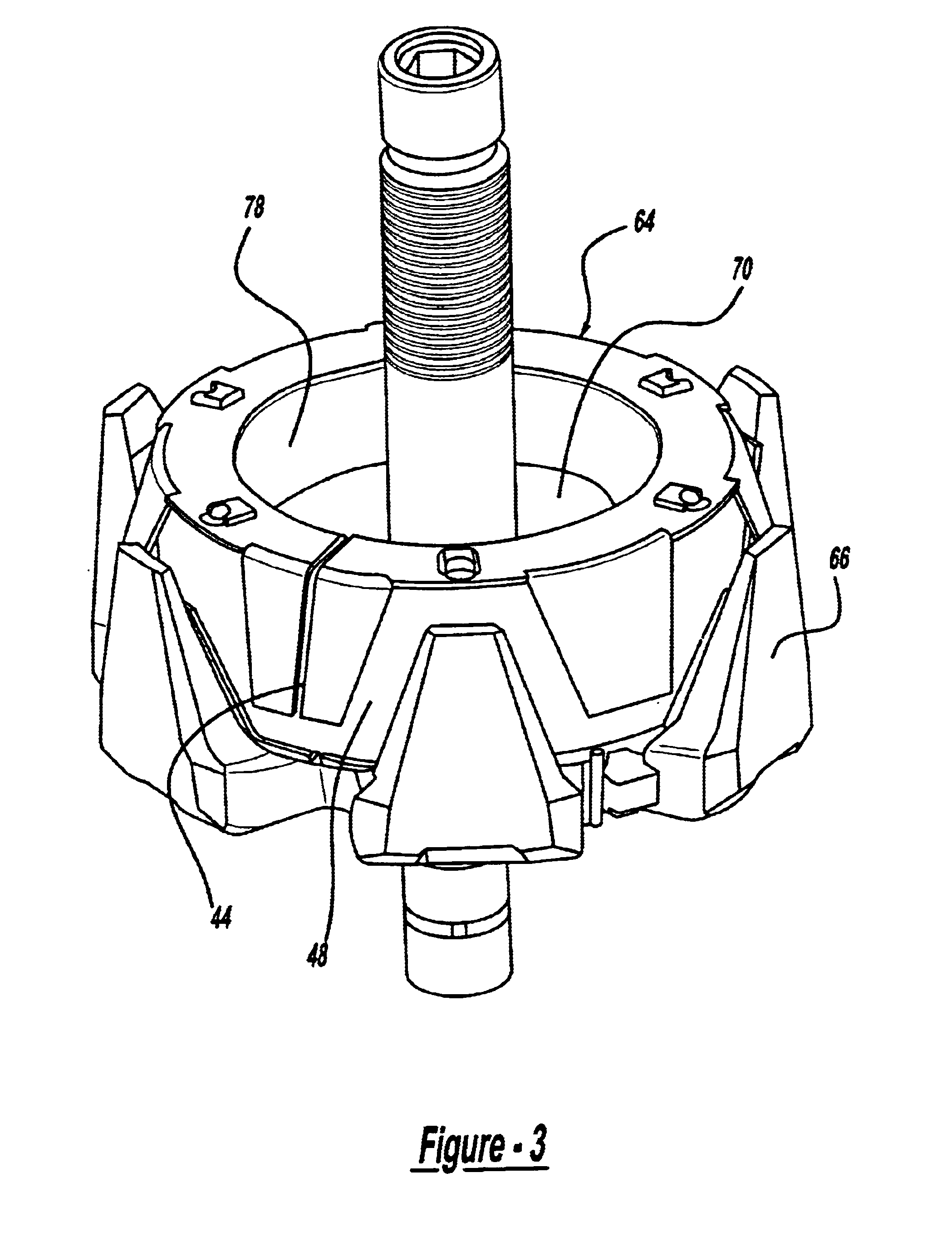 patent us6777845 - high output alternator bobbin