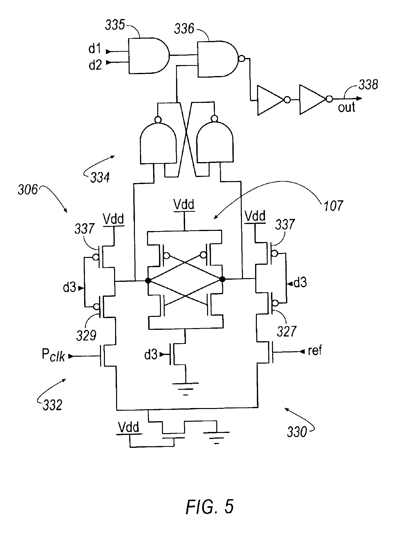 patent us6777992 low power cmos flip flop patents Latch Design patent drawing