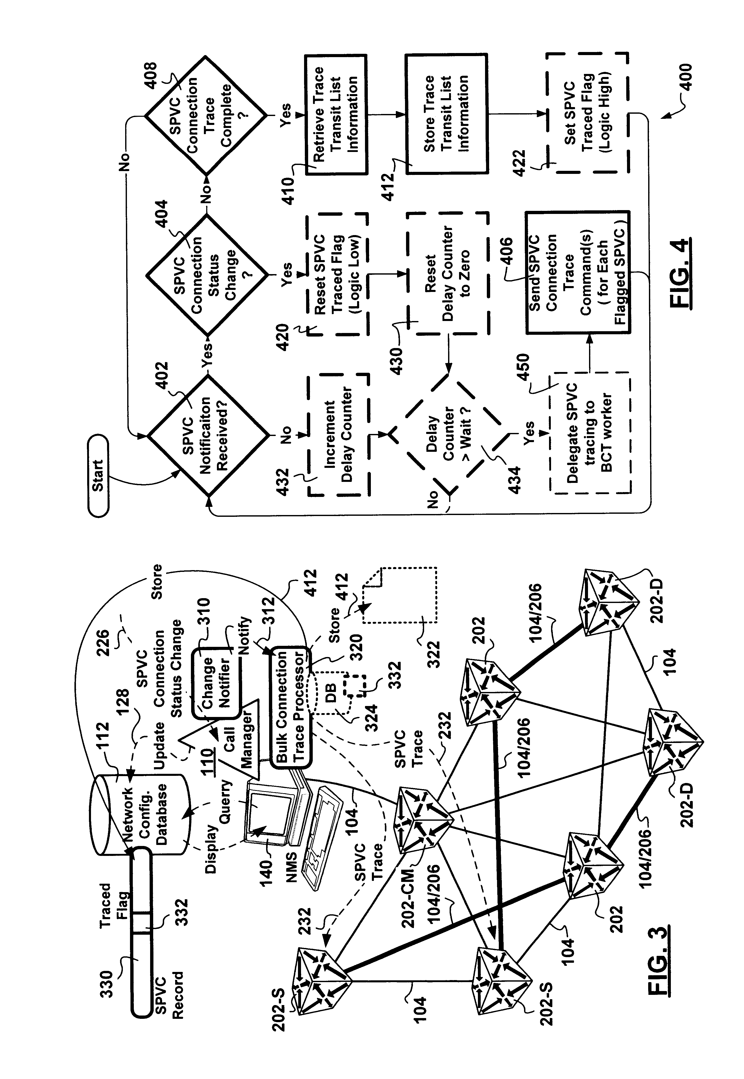 patent us6778504 - dynamic soft permanent virtual circuit bulk connection tracing