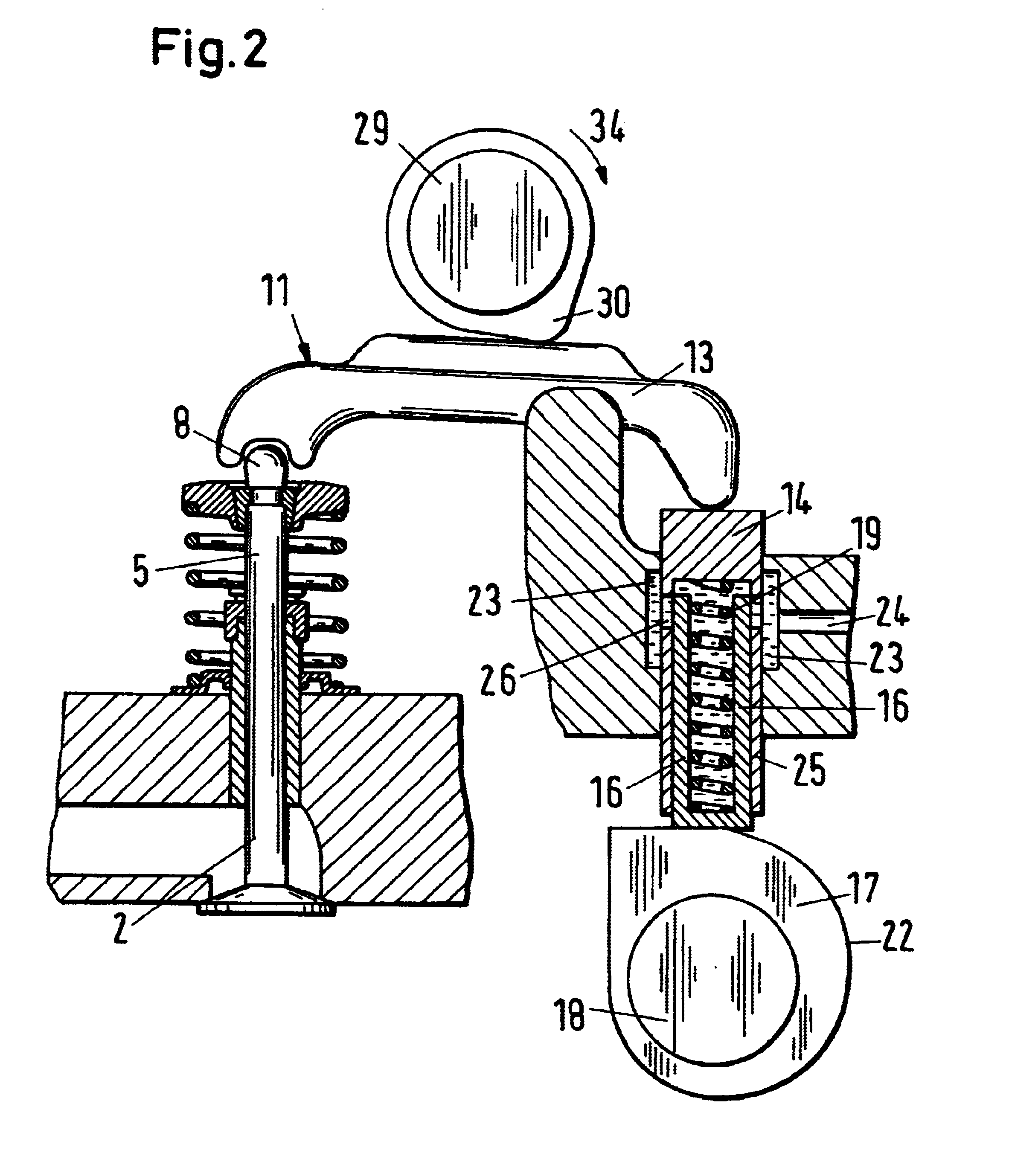 Combustion Engine Lever : Patent us valve stroke control for internal