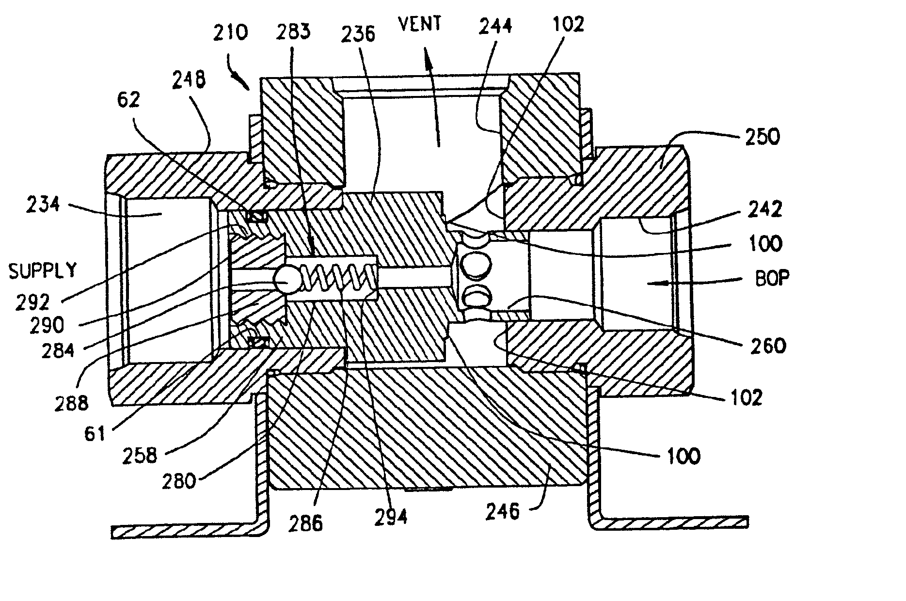 Patent Us6779543 Bop Operating System With Quick Dump