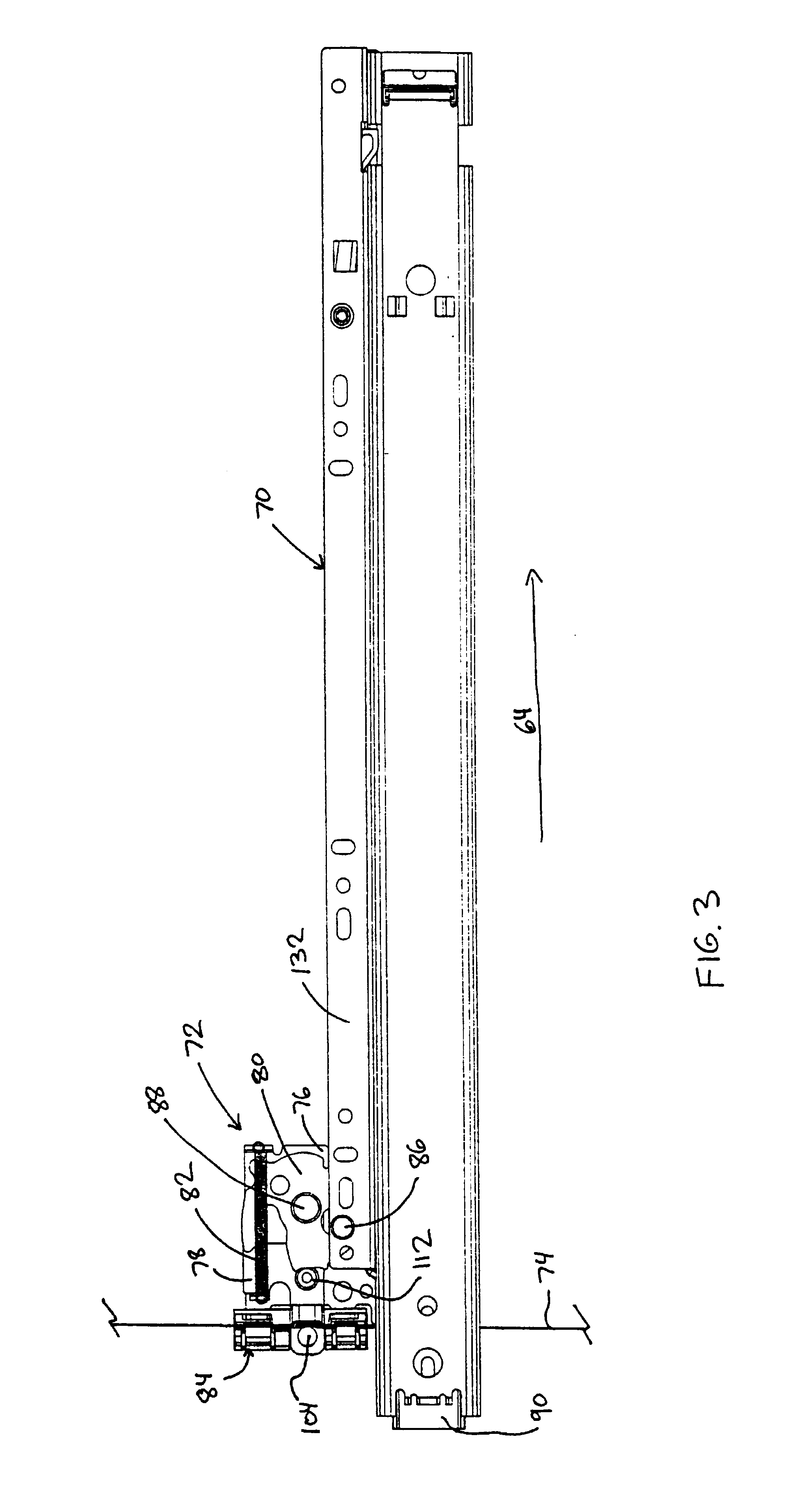 Interlock Mechanism For Lateral File