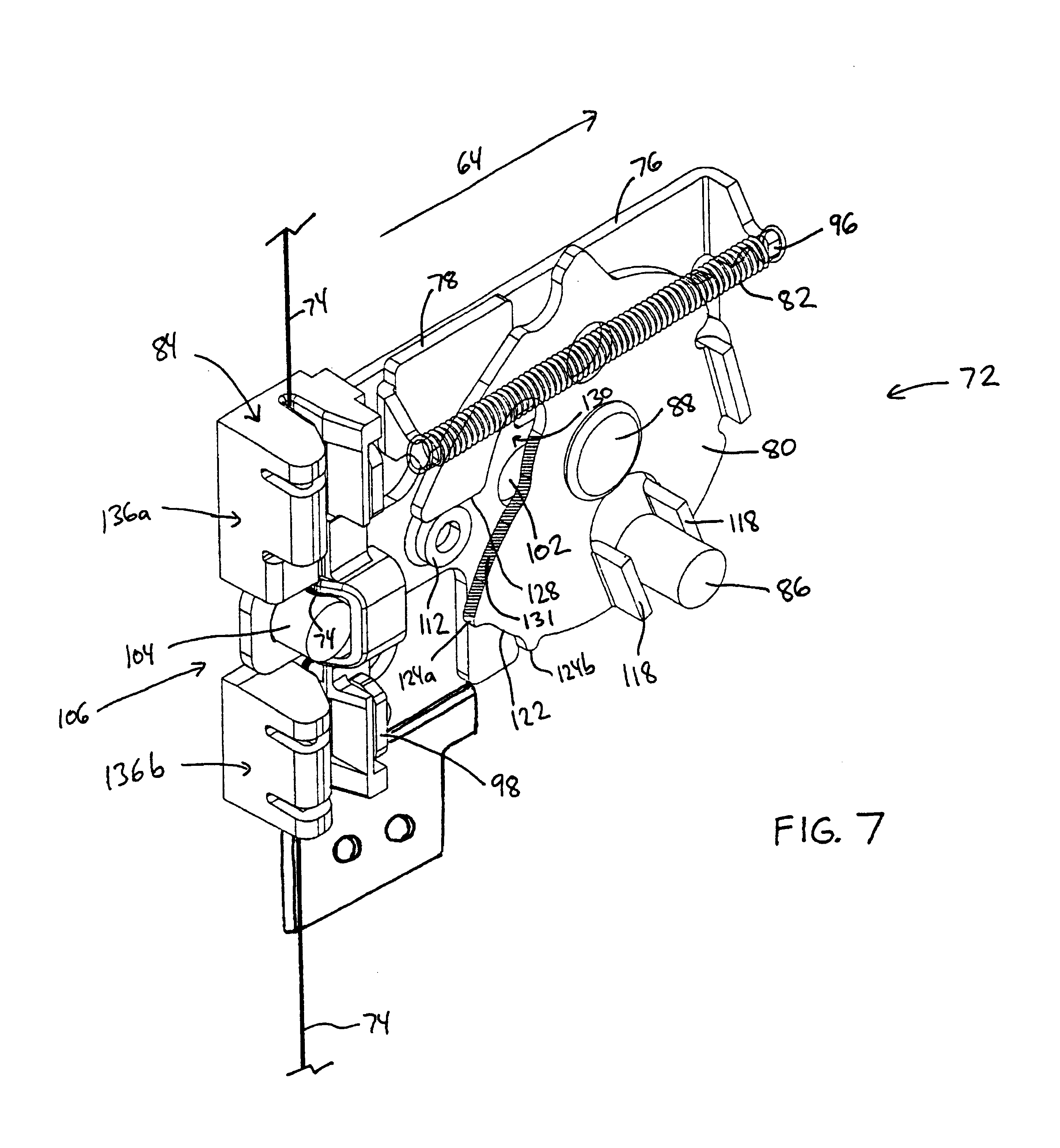 Patent Us6779855 Interlock Mechanism For Lateral File