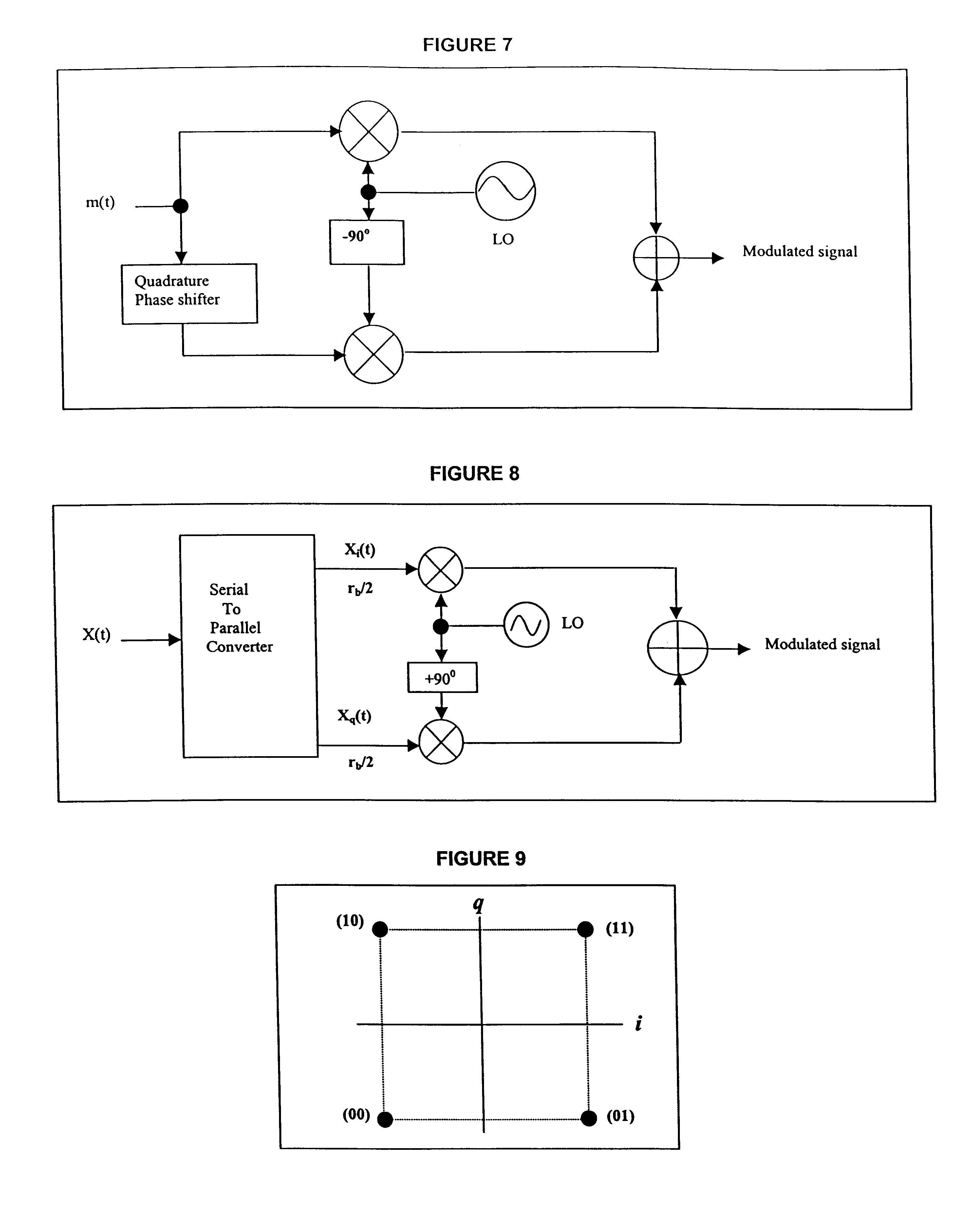 Us6782057 Very High Speed Digital Rf Clipper 8 Qam Transmitter Block Diagram Patent Drawing
