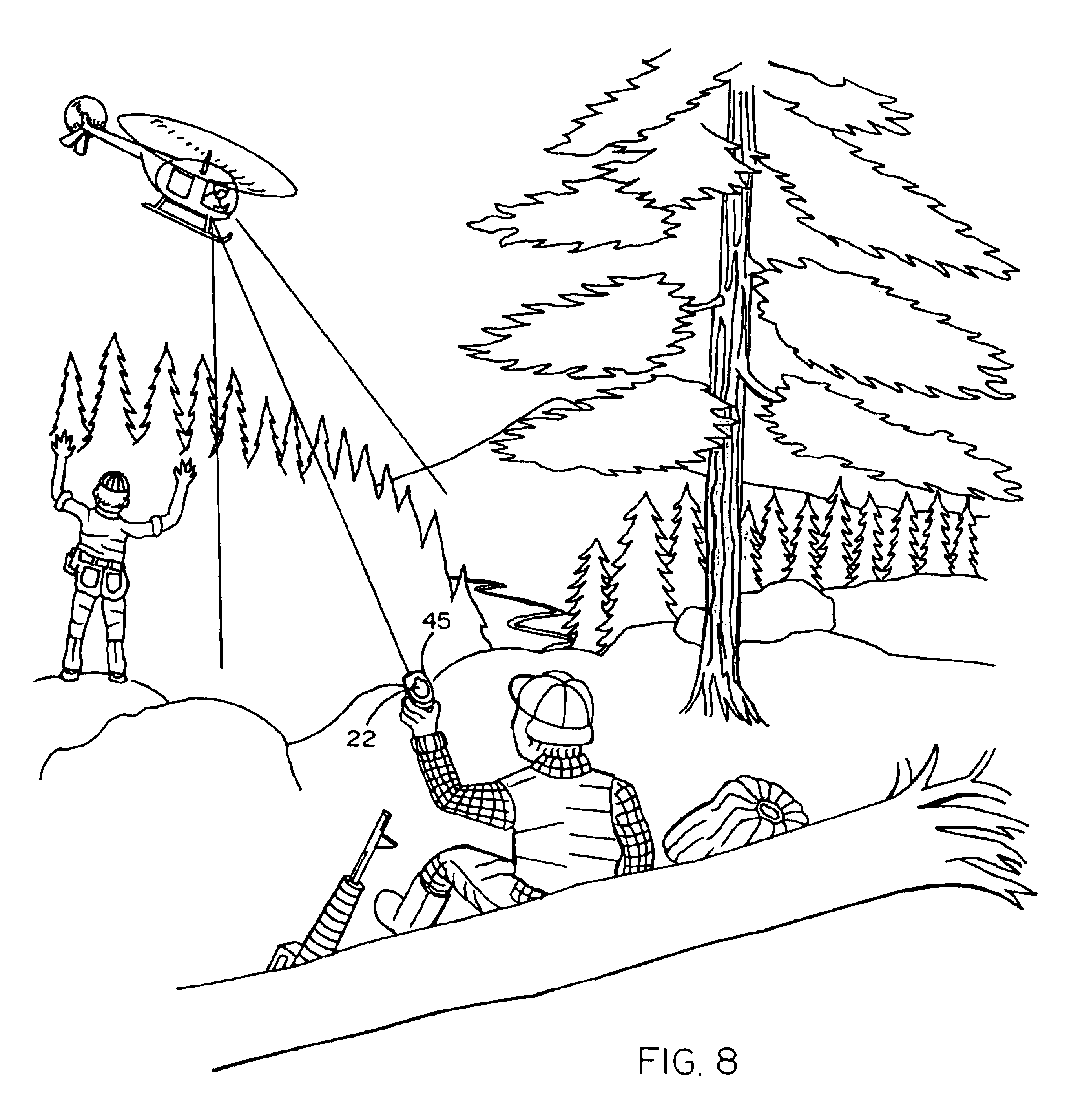 patent us6782789 - electric discharge weapon for use as forend grip of rifles