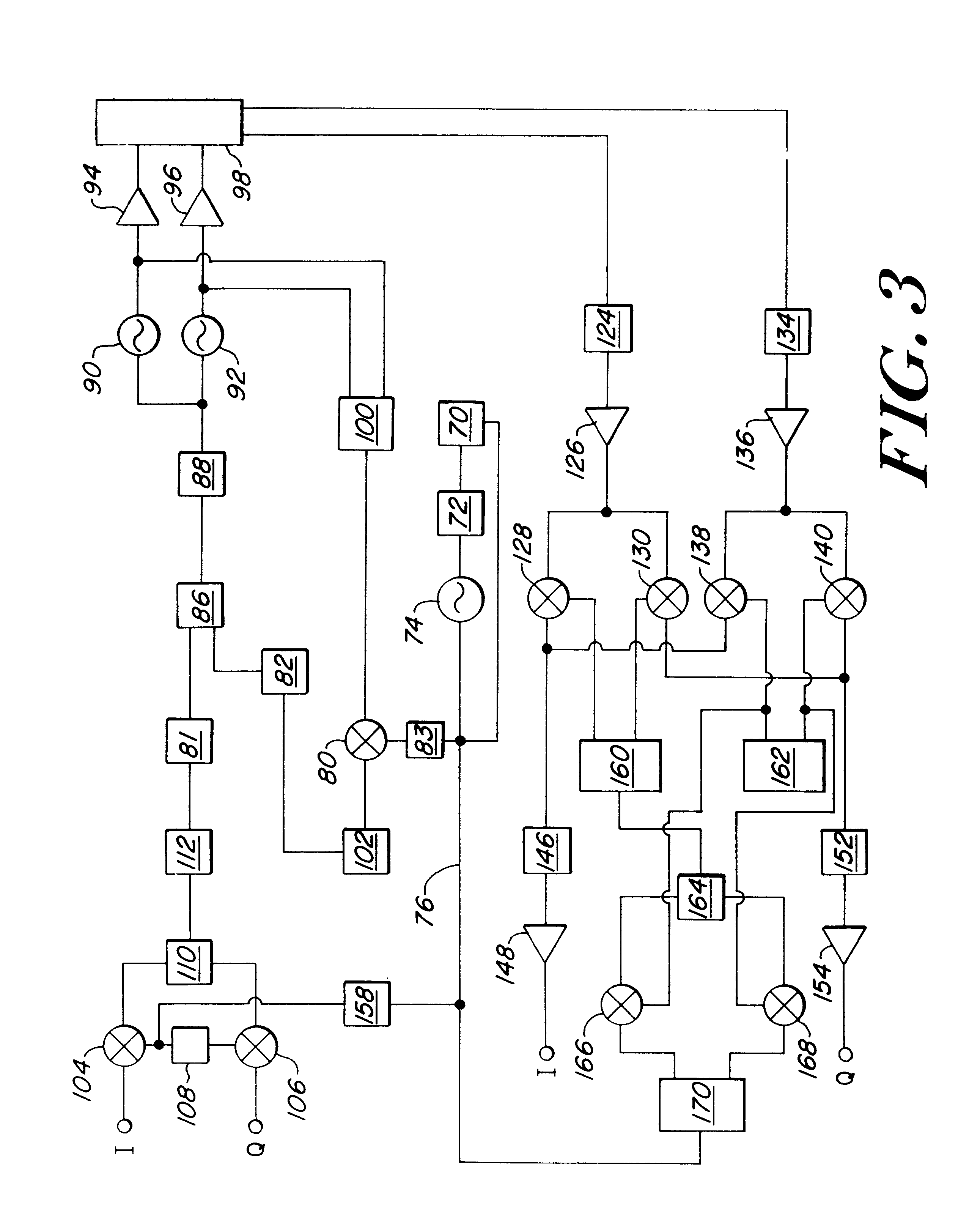 patent us6785518 - transmitter and receiver circuit for radio frequency signals