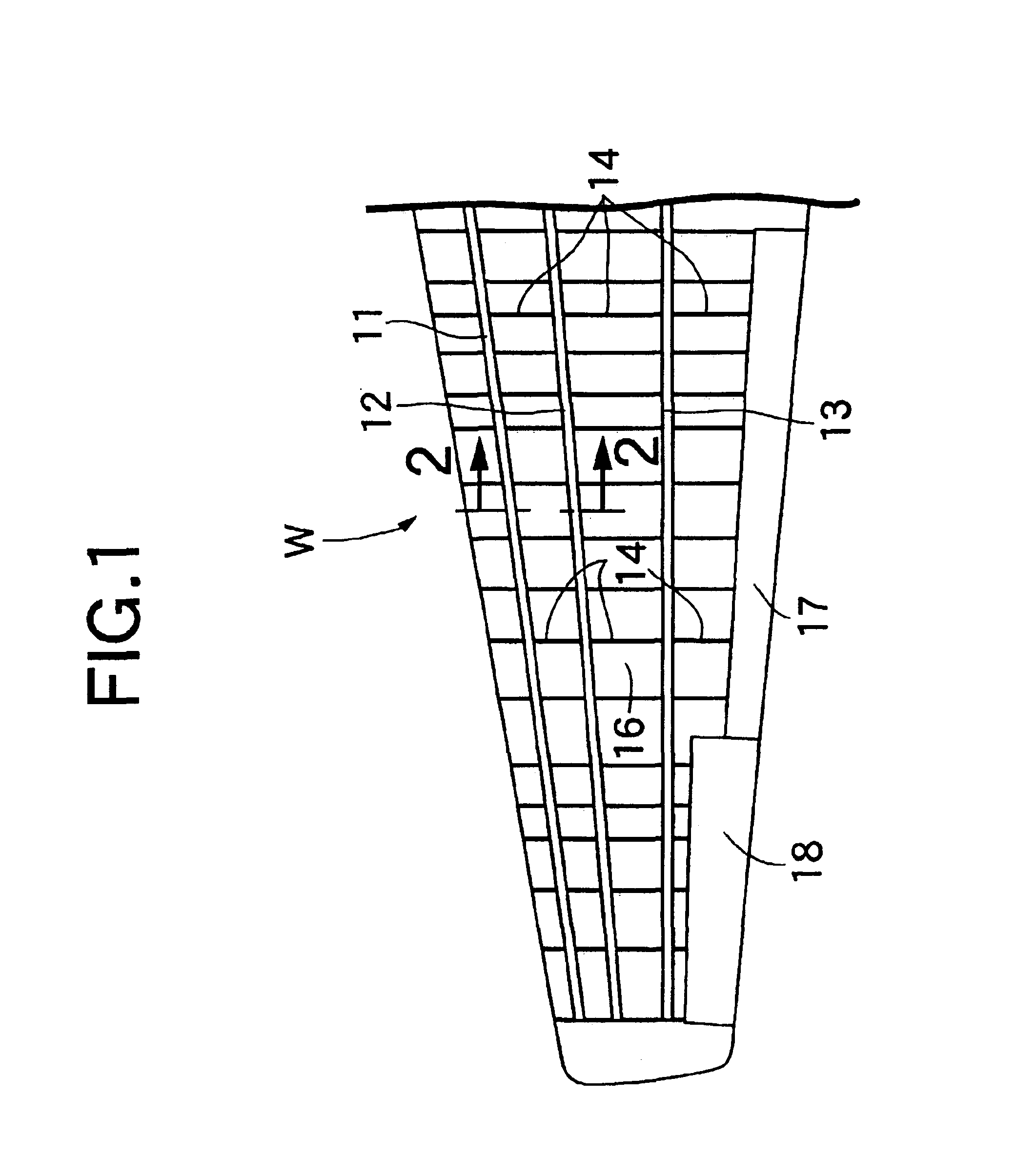 patent us6786452 - wing structure of airplane