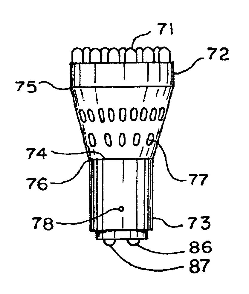 patent us6786625 - led light module for vehicles