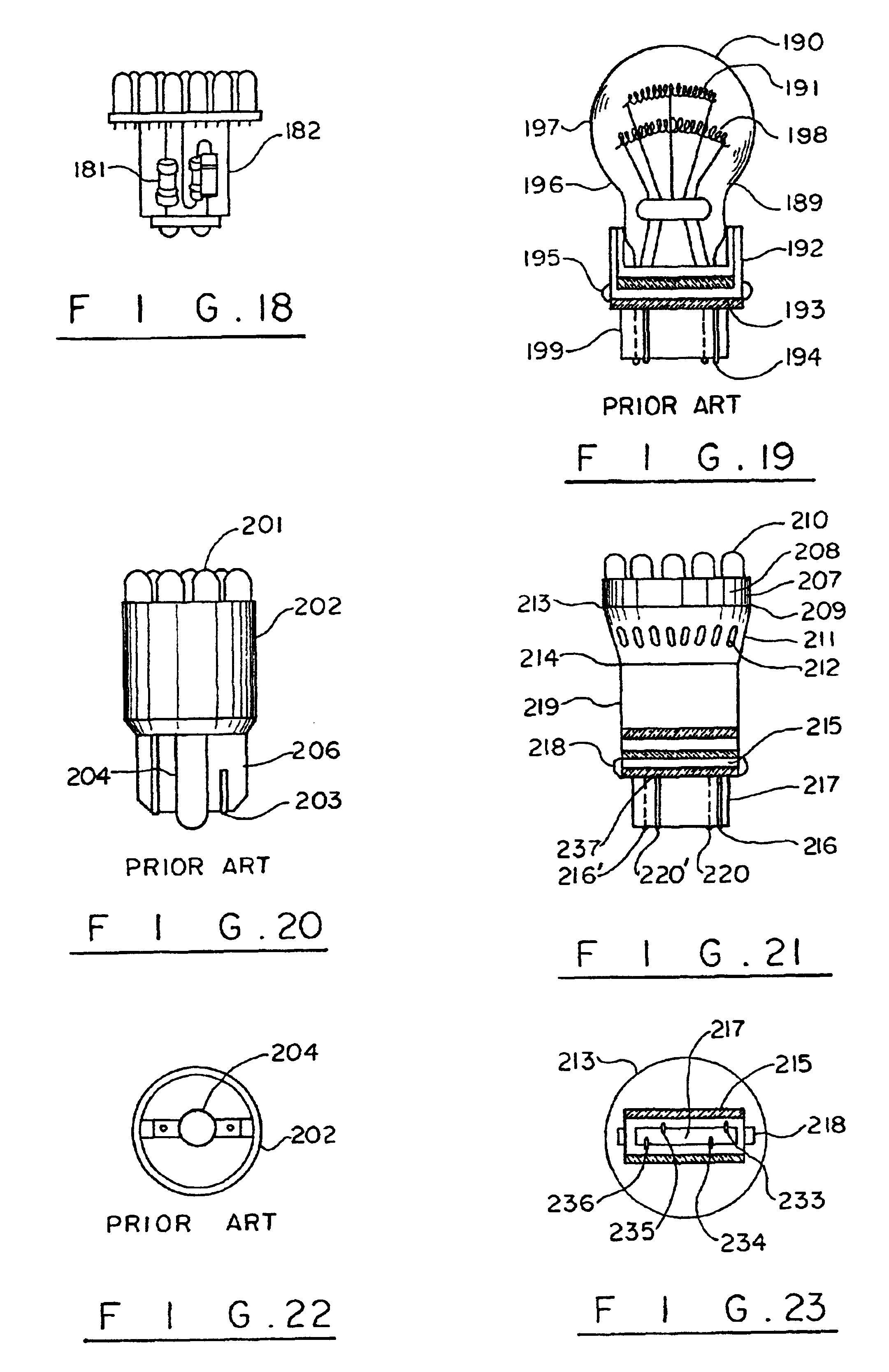 patent us6786625 - led light module for vehicles