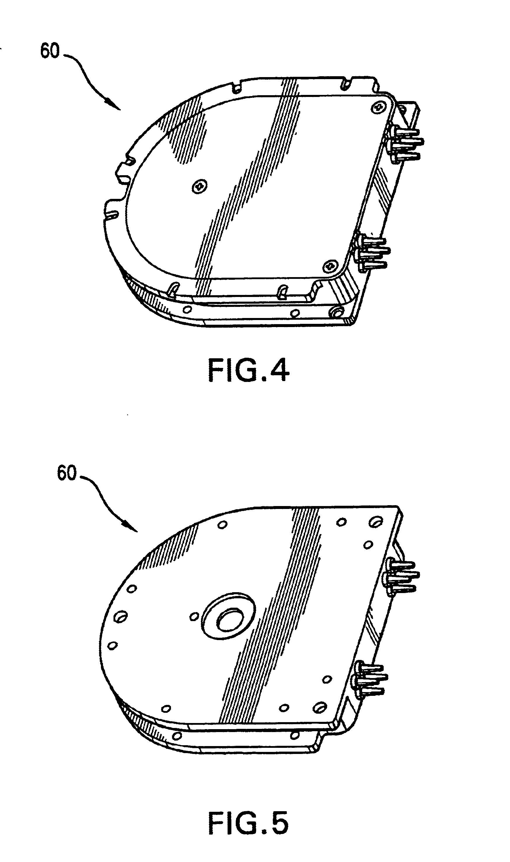 patent us6788870 - isothermal fiber optic tray