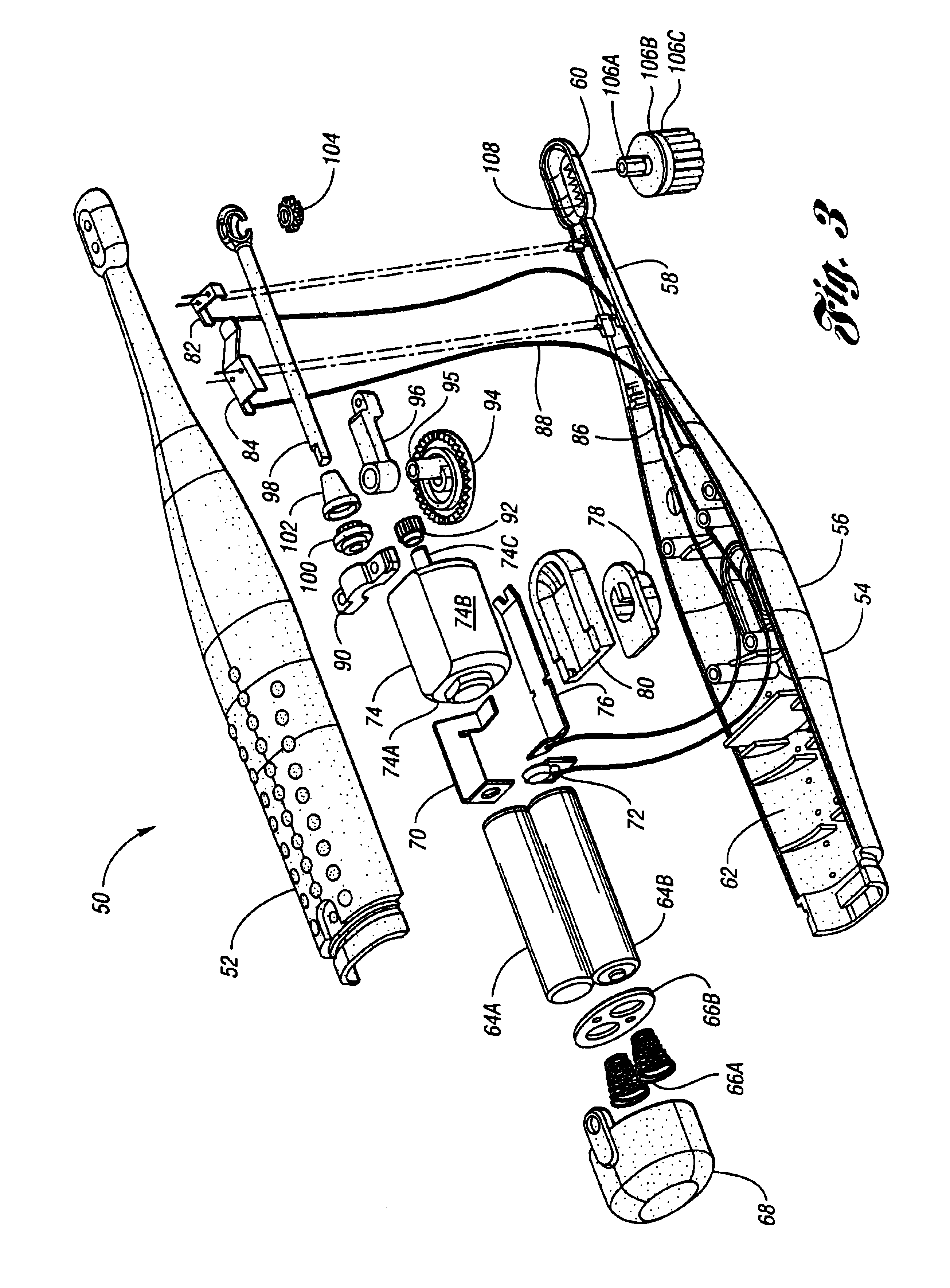 Patent Us6792640 Automatic Electric Toothbrush Google