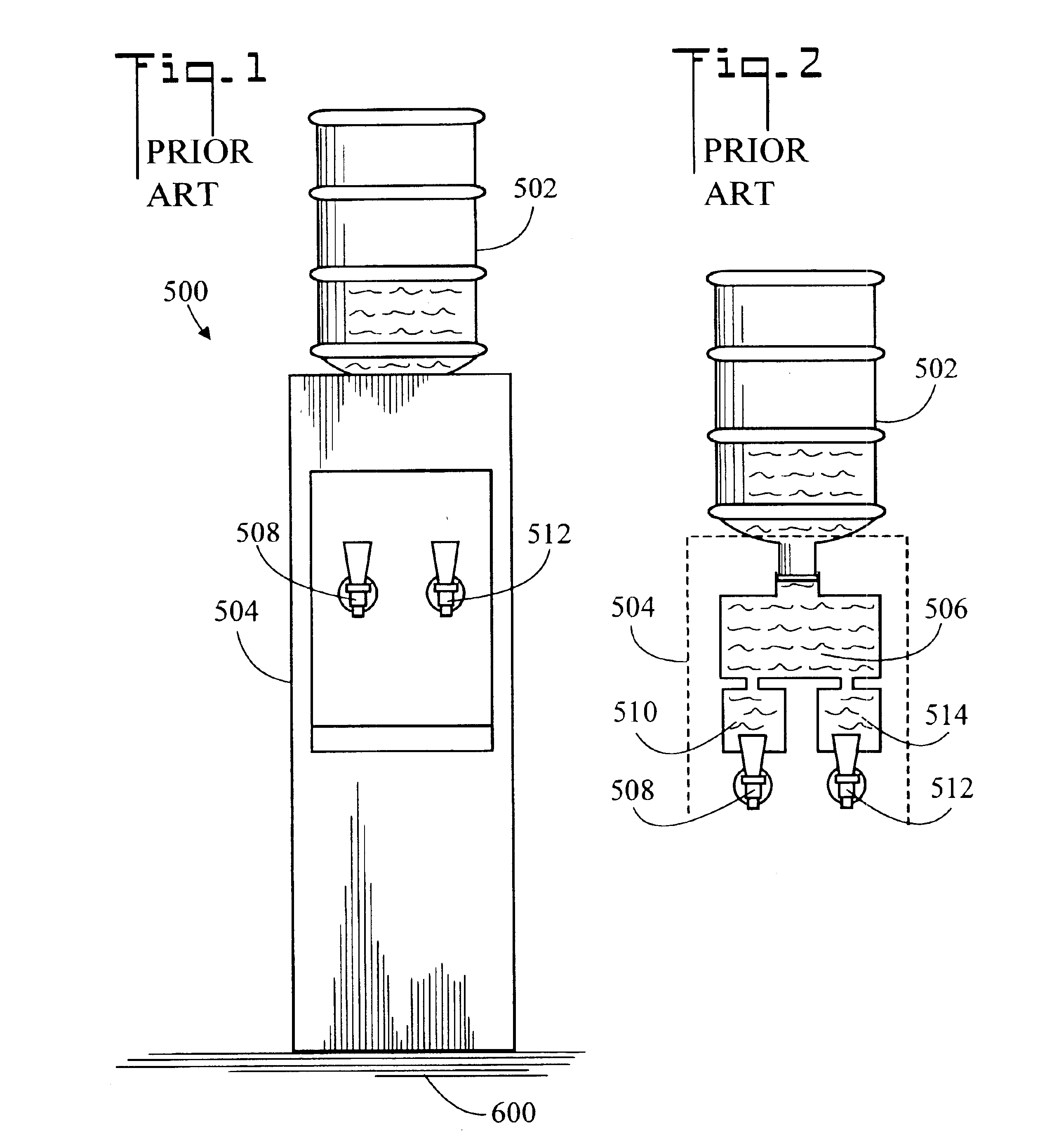 patent us6793099 - supply system for a bottled water cooler and method of use