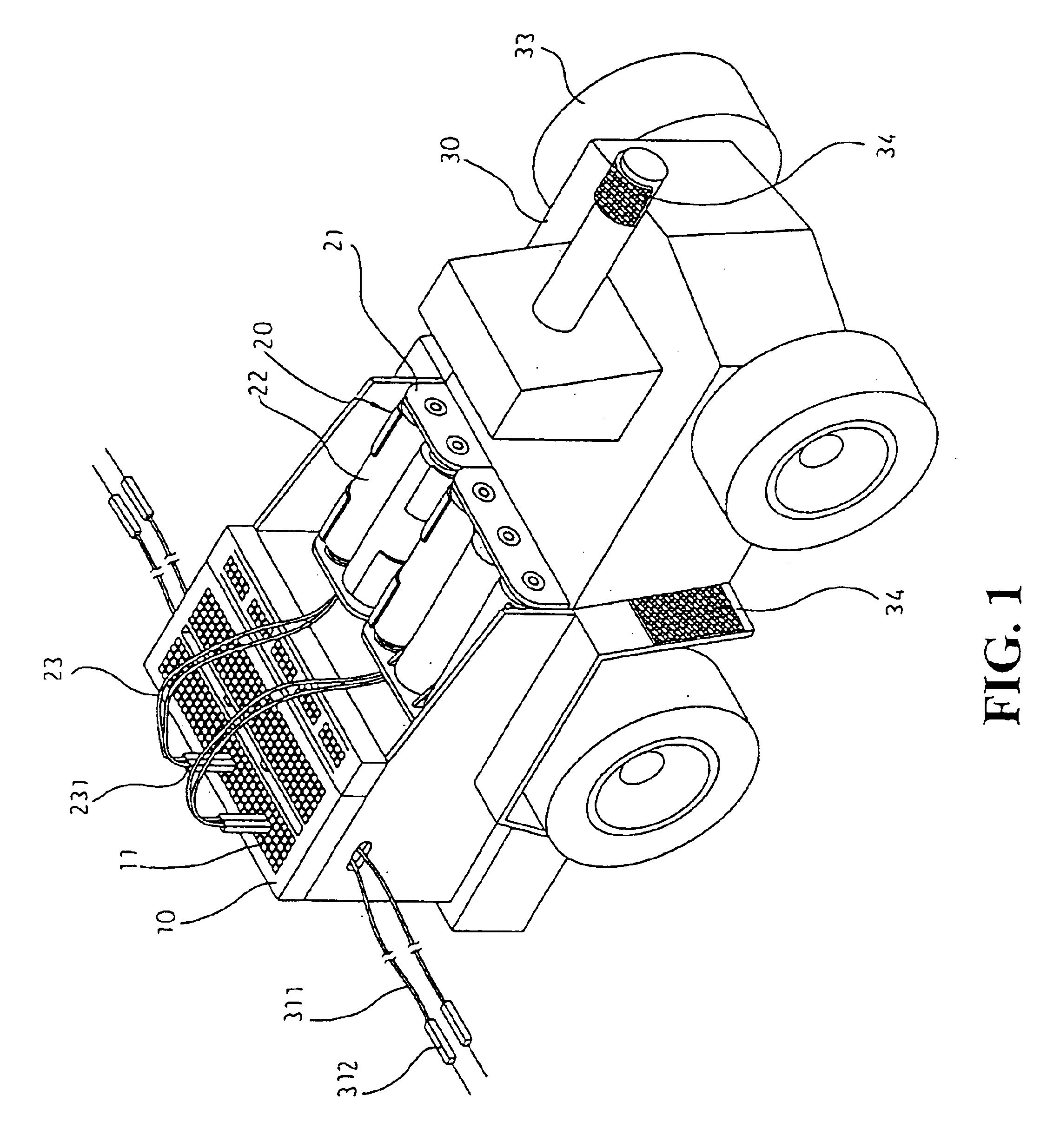 patent us6796873 - structure of a toy car
