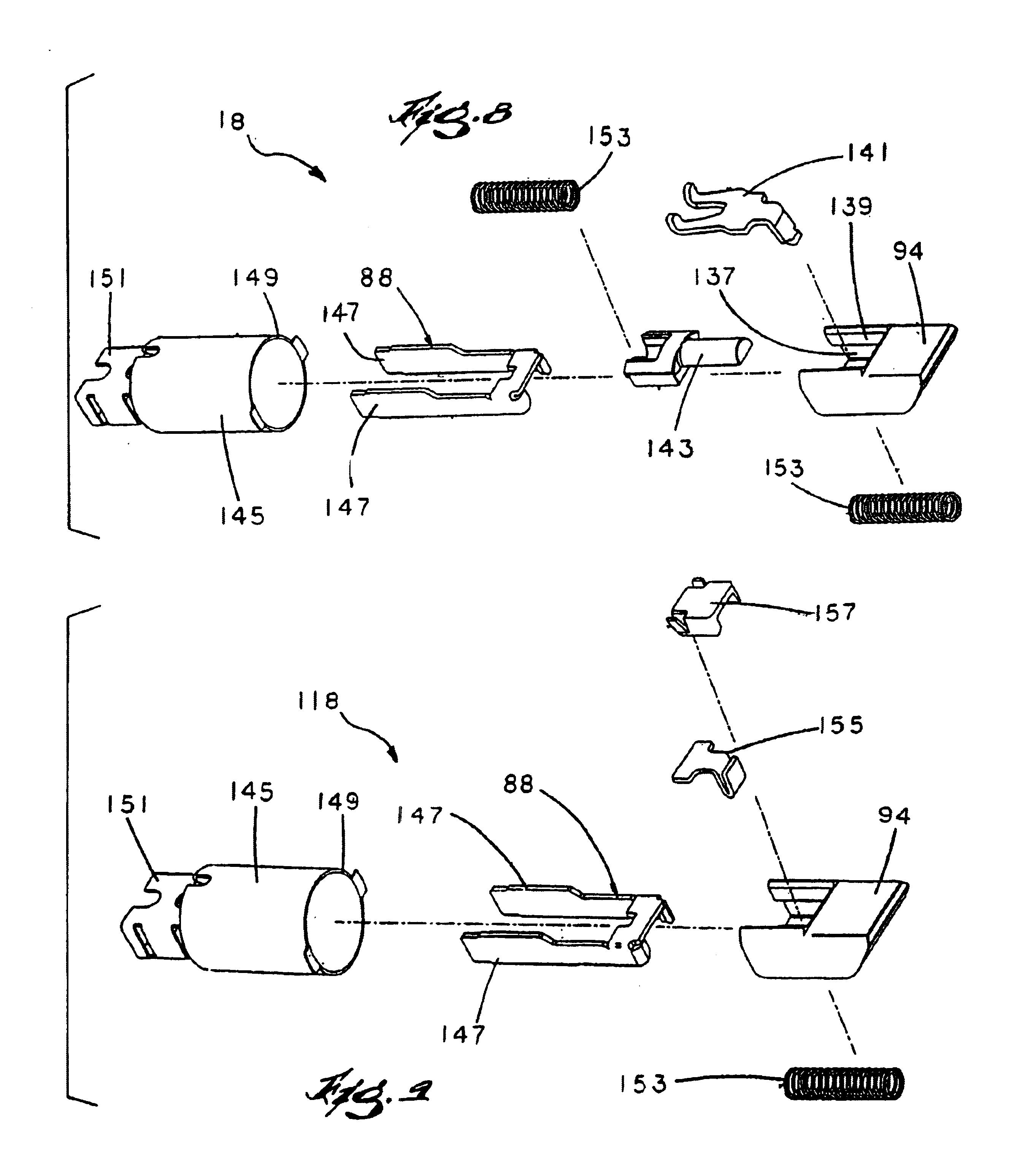 patent us6802546 convertible door lock latch mechanism. Black Bedroom Furniture Sets. Home Design Ideas