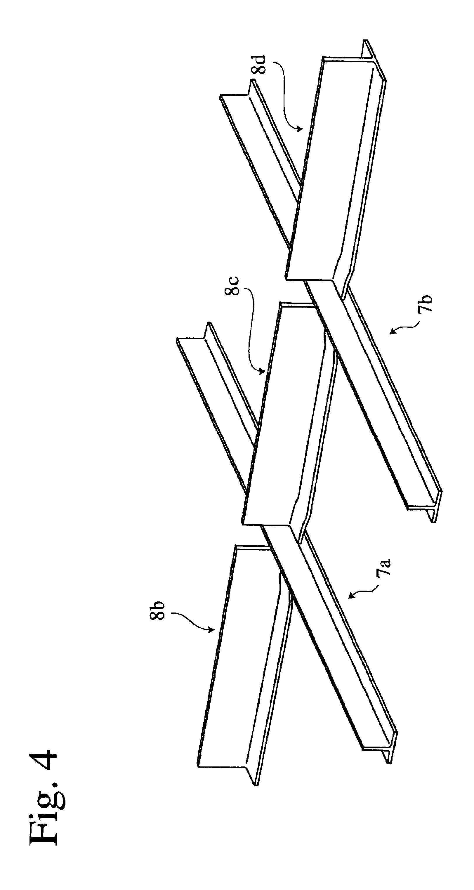 Patent US6802931...Honeycomb Core Forming