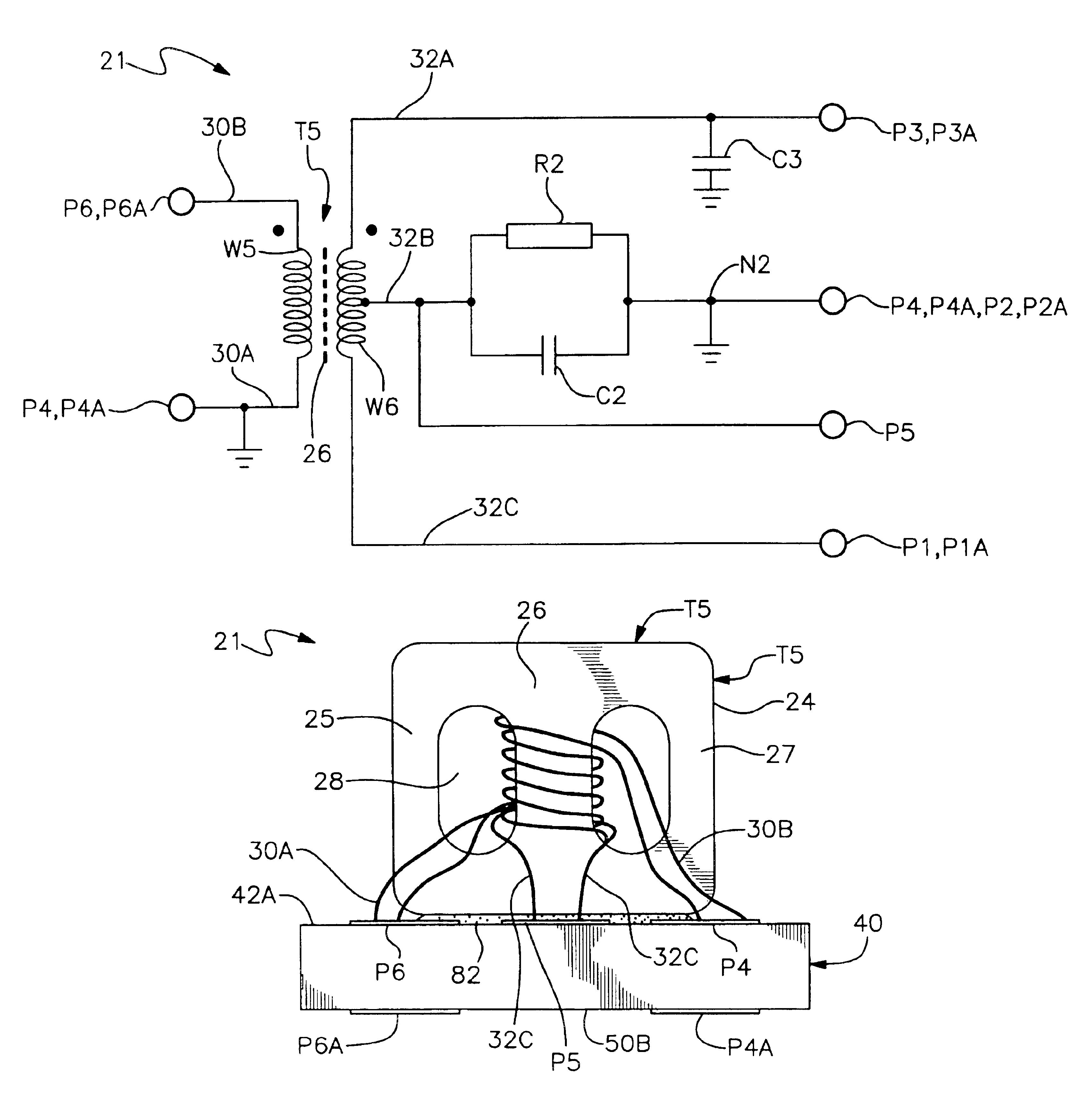 Patent Us6806790 - Miniature 180 Degree Power Splitter