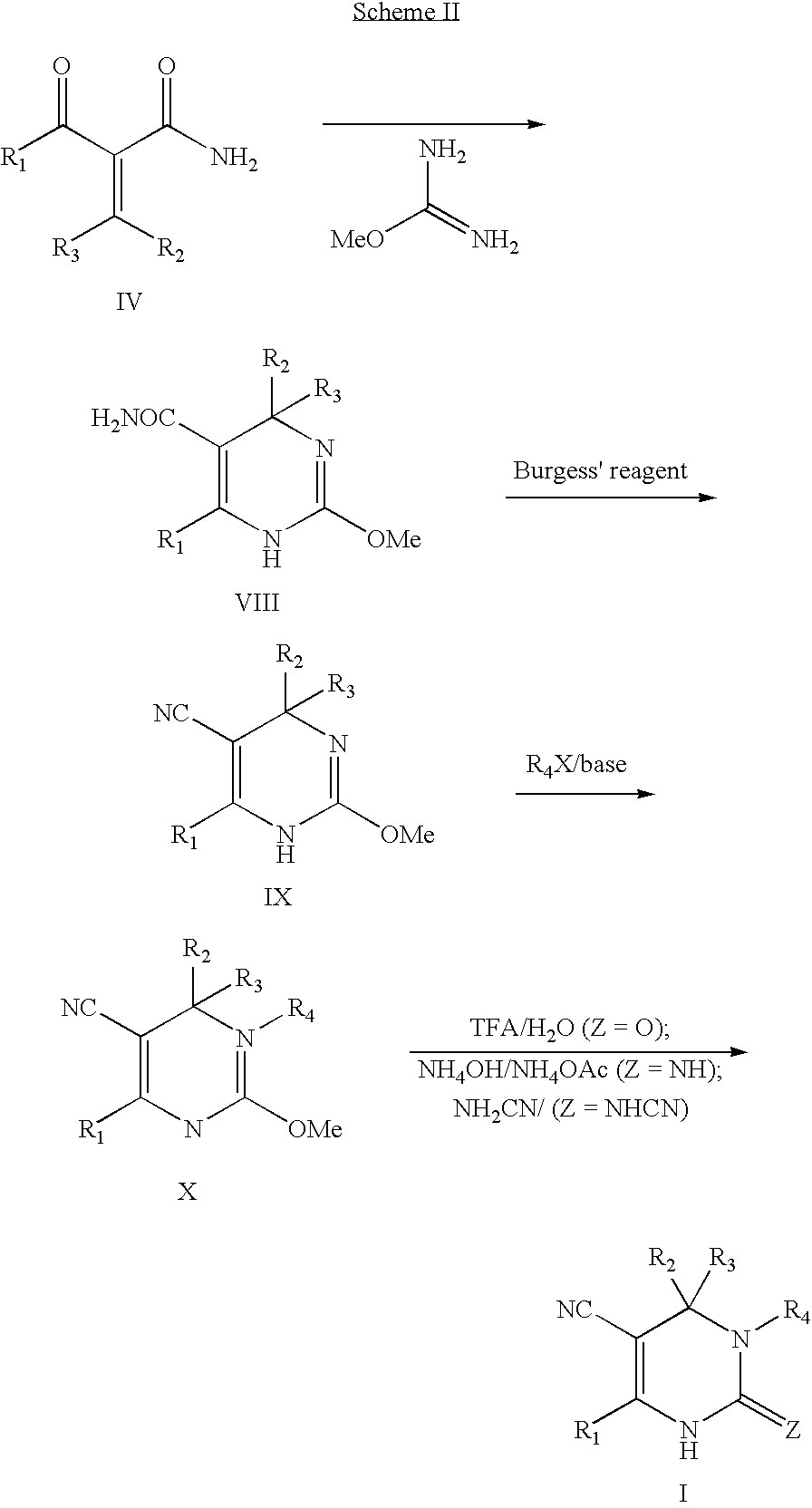 Burgess and martin dehydrating reagents