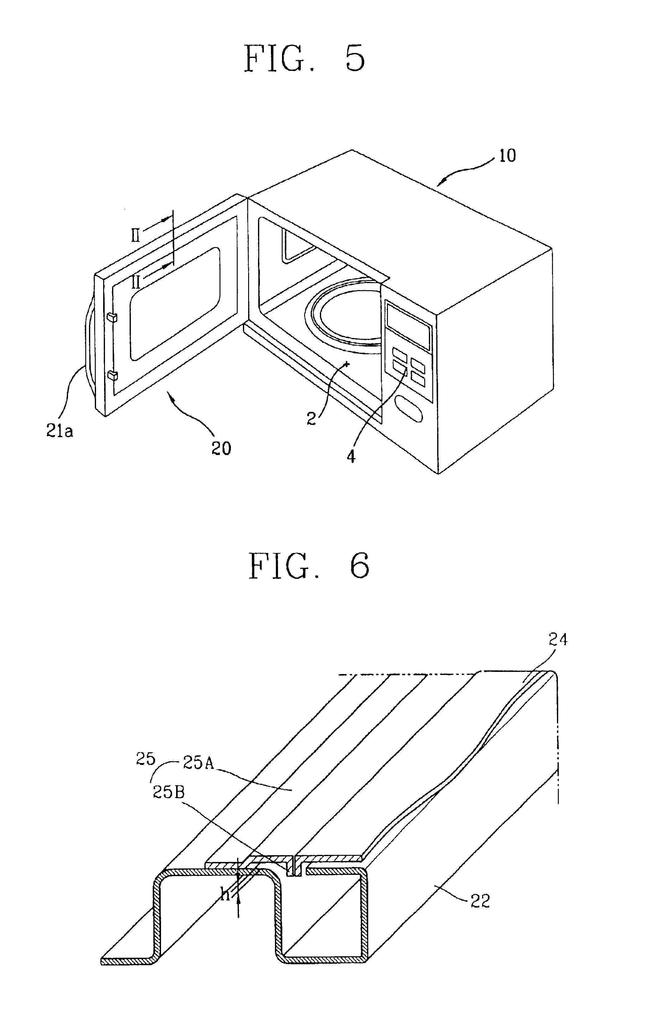 Patent Us6812442 Microwave Oven Door With Choke