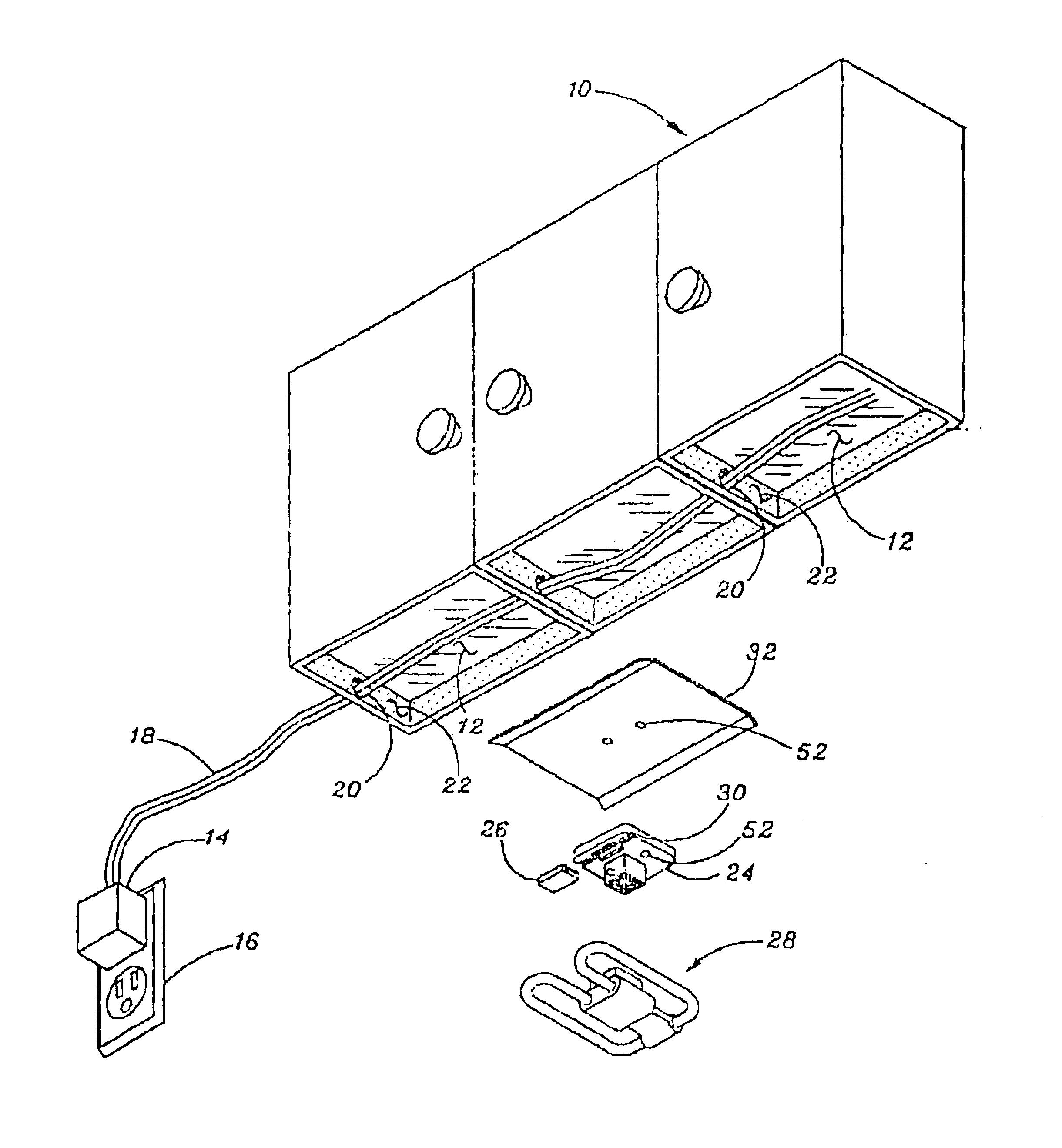 Patent Us6814462 Under Cabinet Lighting System Google