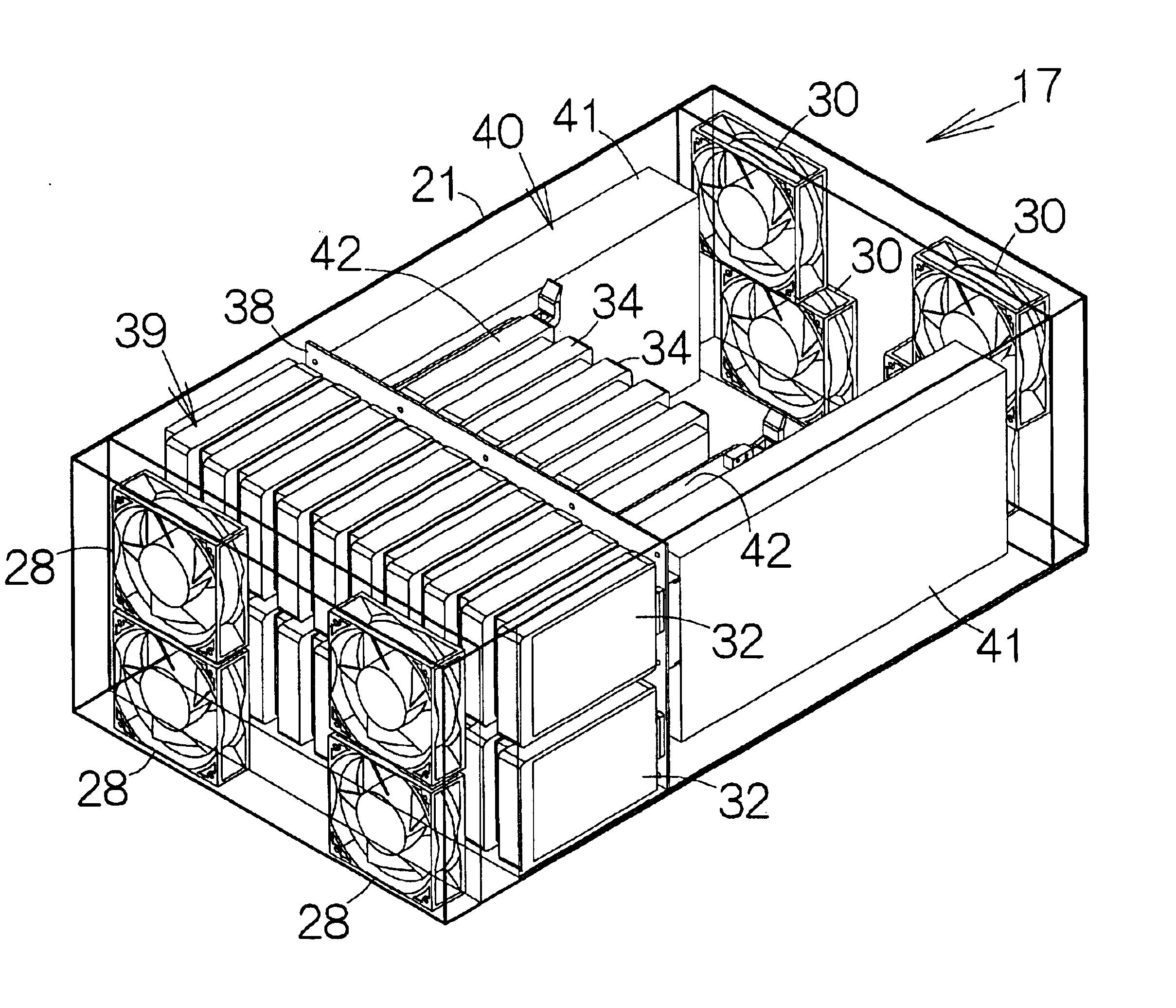 patent us6816368 - disk array unit